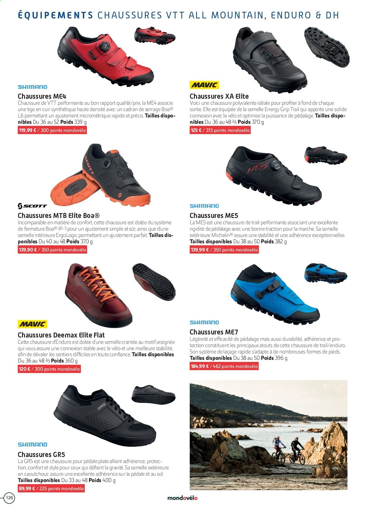 Catalogue Sport 2000. Page 126.