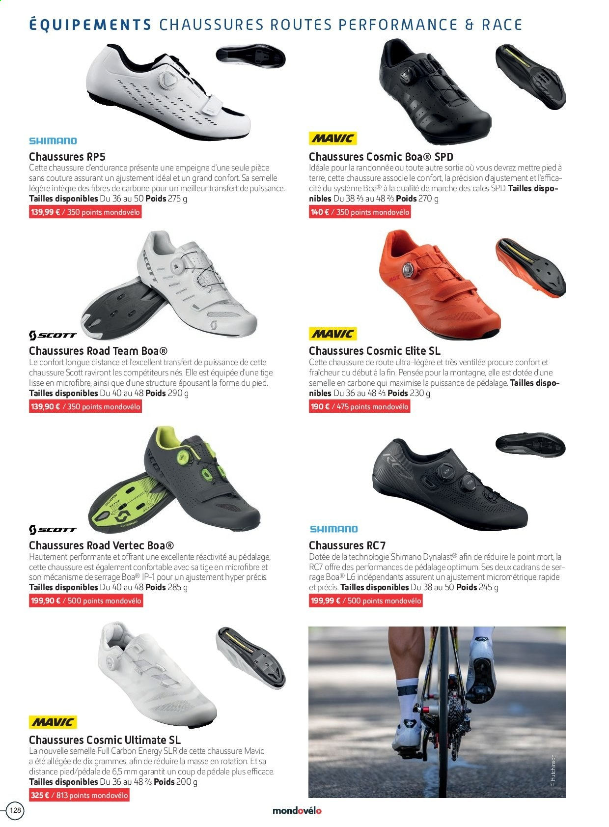 Catalogue Sport 2000. Page 128.