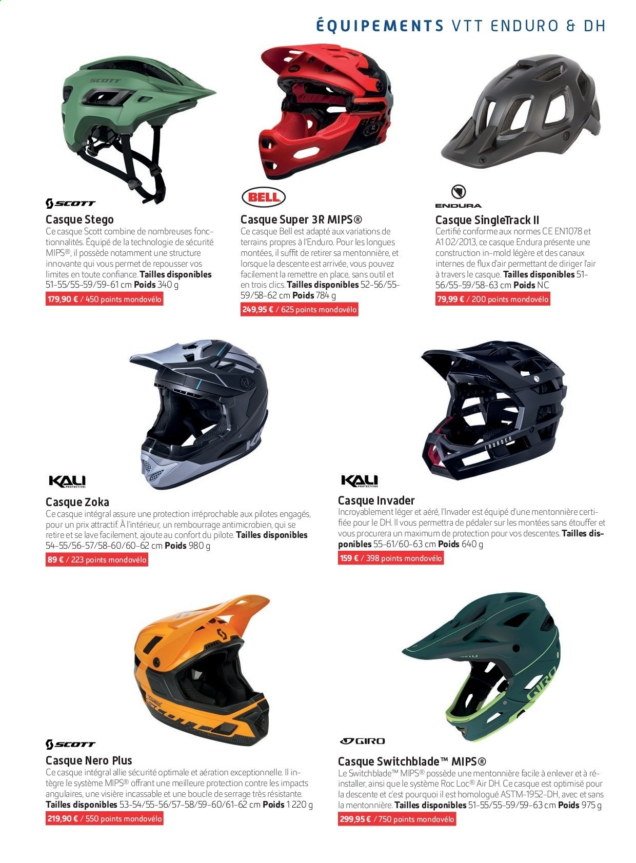 Catalogue Sport 2000. Page 131.