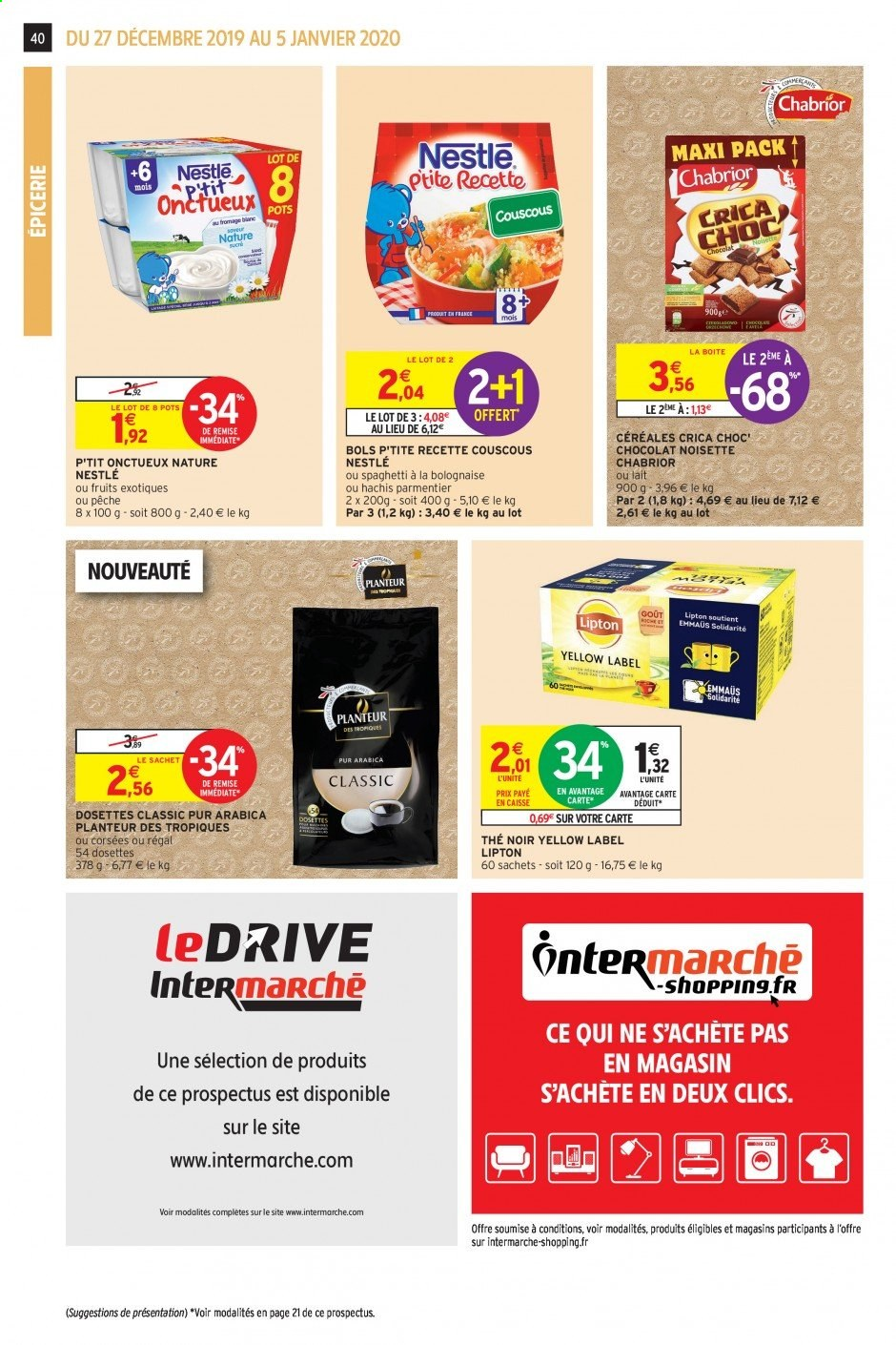 Catalogue Intermarché - 27.12.2019 - 05.01.2020. Page 39.