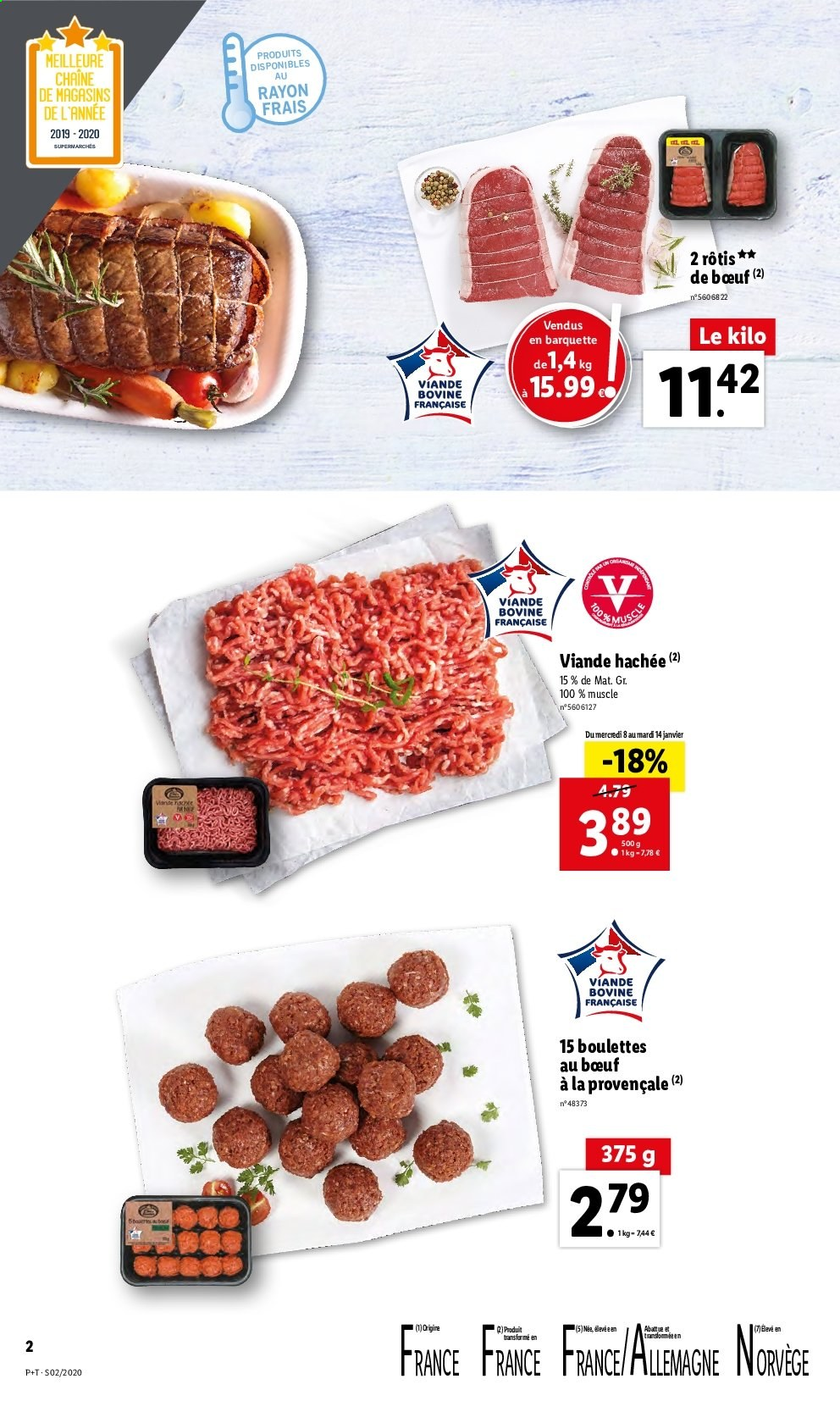Catalogue Lidl - 08.01.2020 - 14.01.2020. Page 2.