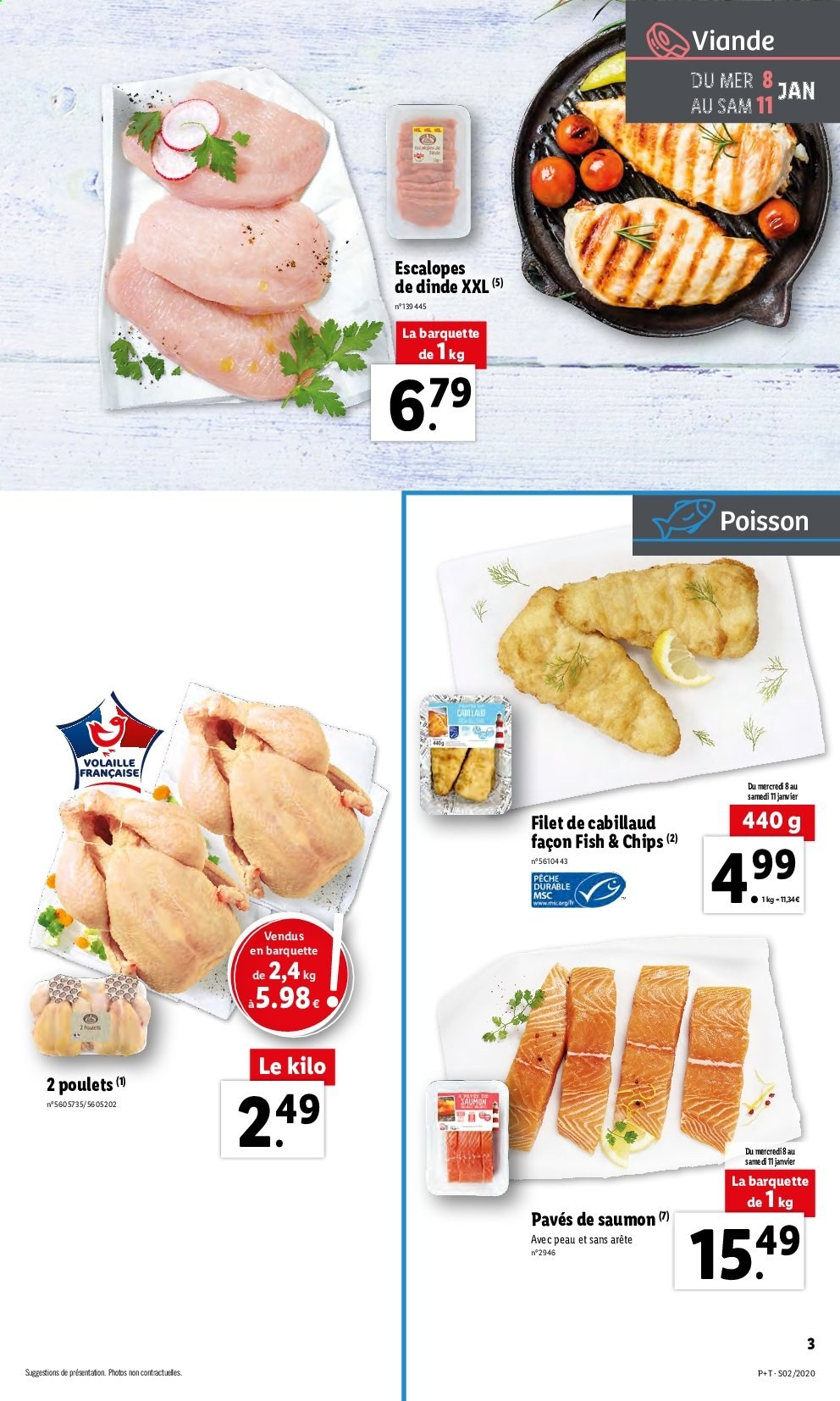 Catalogue Lidl - 08.01.2020 - 14.01.2020. Page 3.