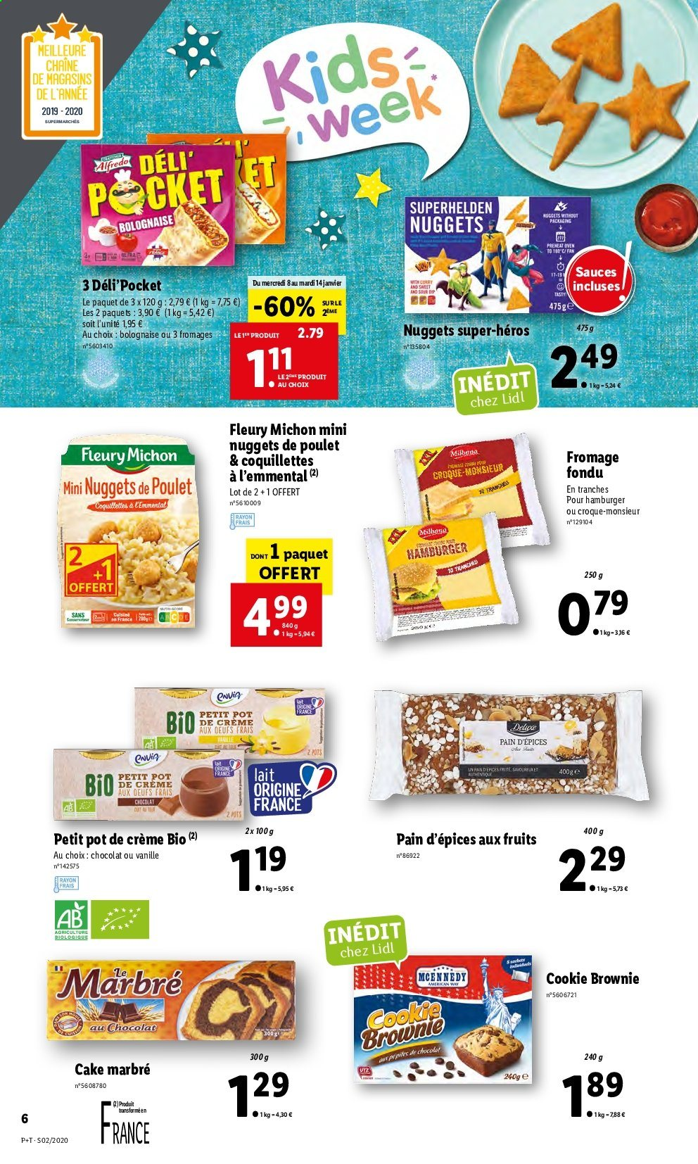 Catalogue Lidl - 08.01.2020 - 14.01.2020. Page 6.