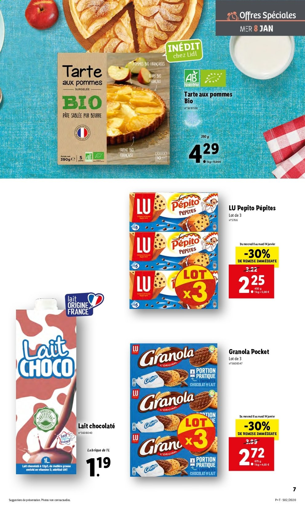 Catalogue Lidl - 08.01.2020 - 14.01.2020. Page 7.