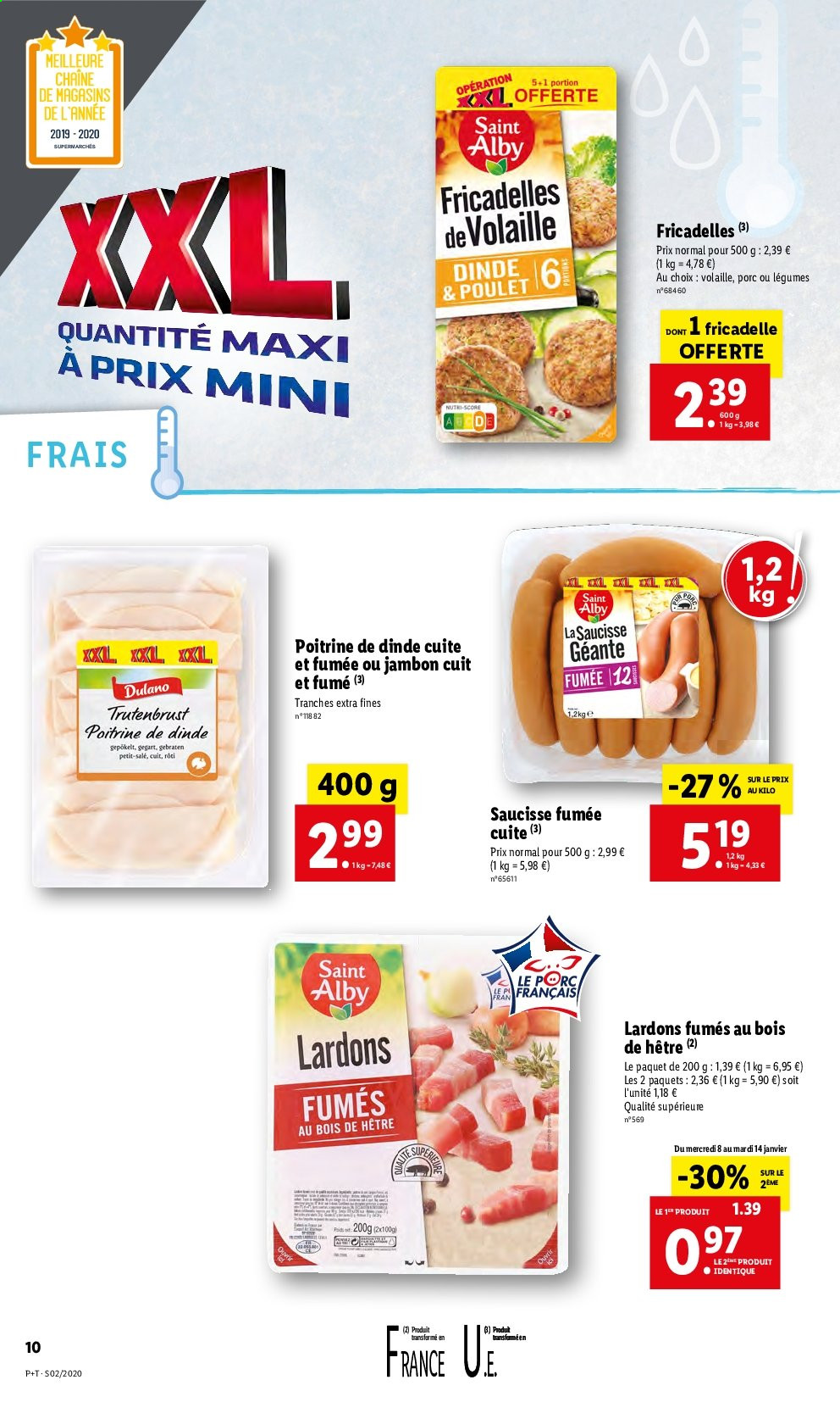 Catalogue Lidl - 08.01.2020 - 14.01.2020. Page 10.