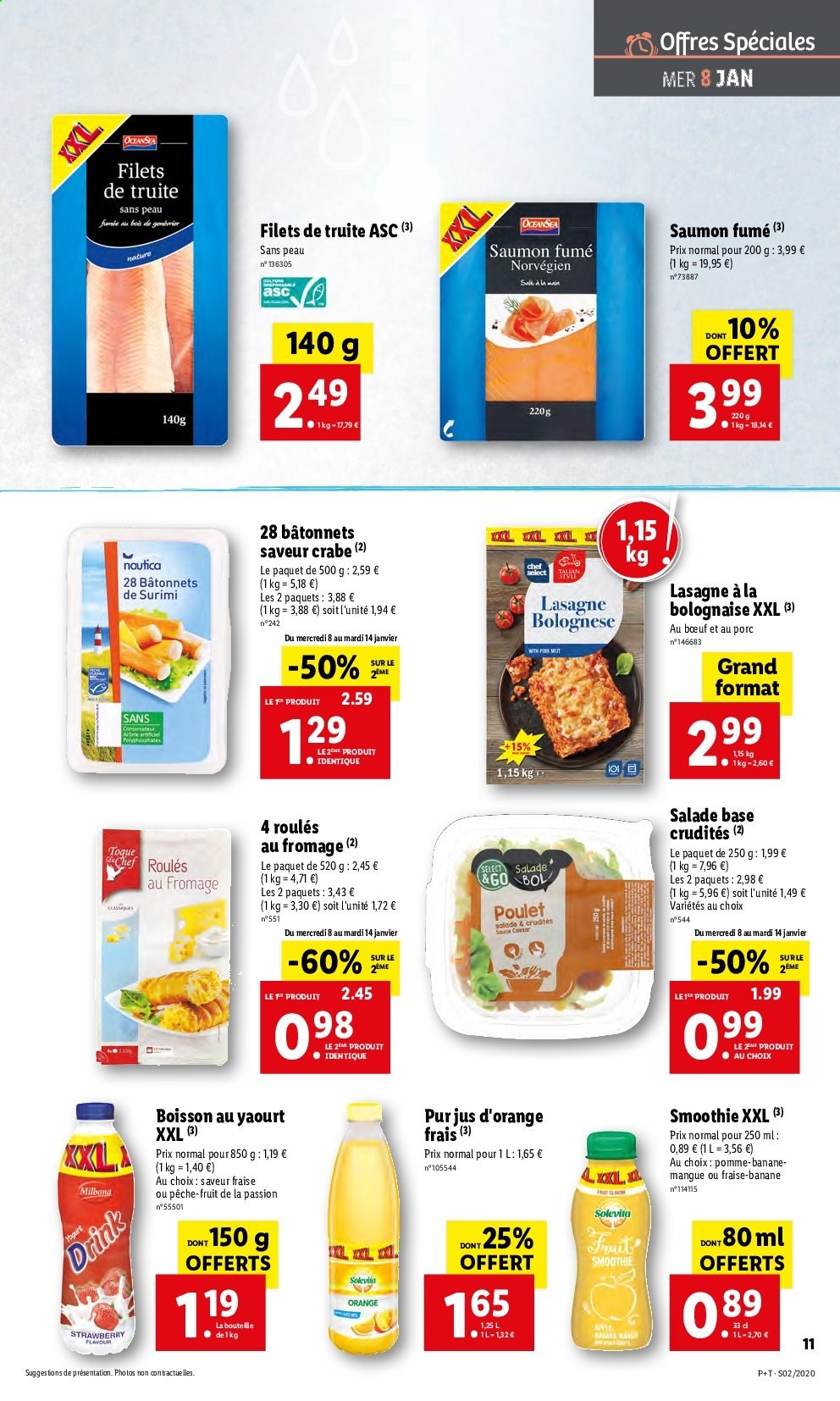 Catalogue Lidl - 08.01.2020 - 14.01.2020. Page 11.