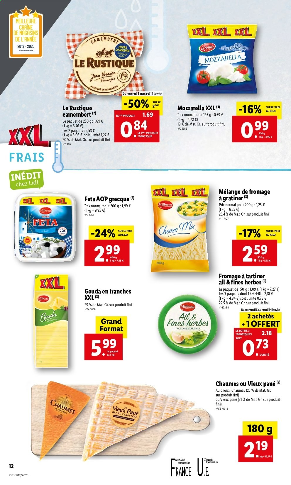 Catalogue Lidl - 08.01.2020 - 14.01.2020. Page 12.
