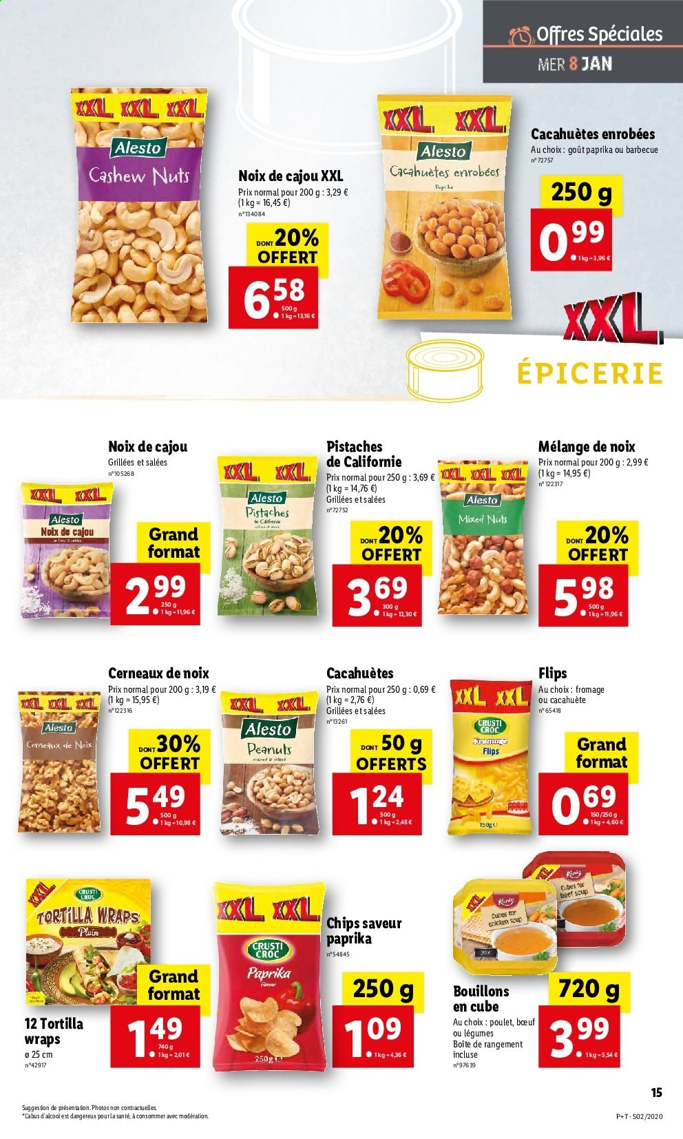 Catalogue Lidl - 08.01.2020 - 14.01.2020. Page 15.