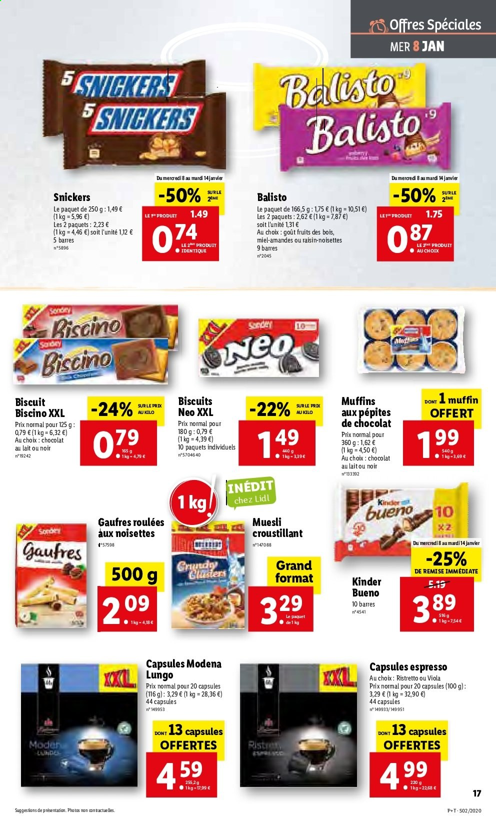 Catalogue Lidl - 08.01.2020 - 14.01.2020. Page 17.