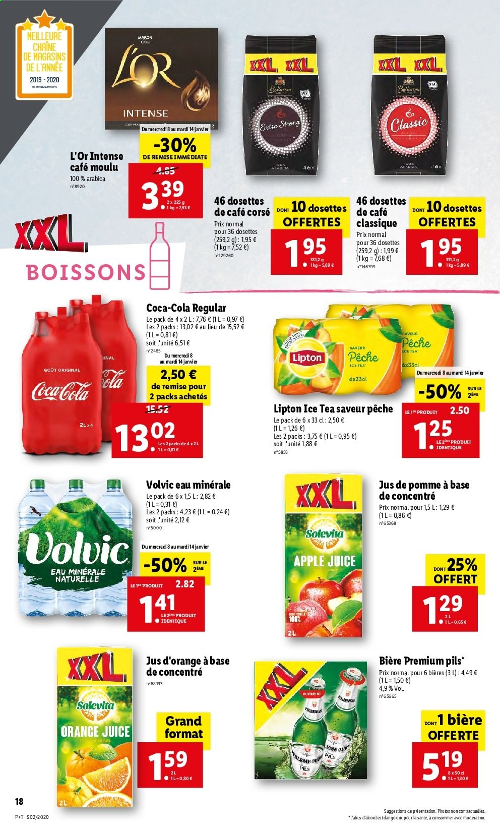 Catalogue Lidl - 08.01.2020 - 14.01.2020. Page 18.