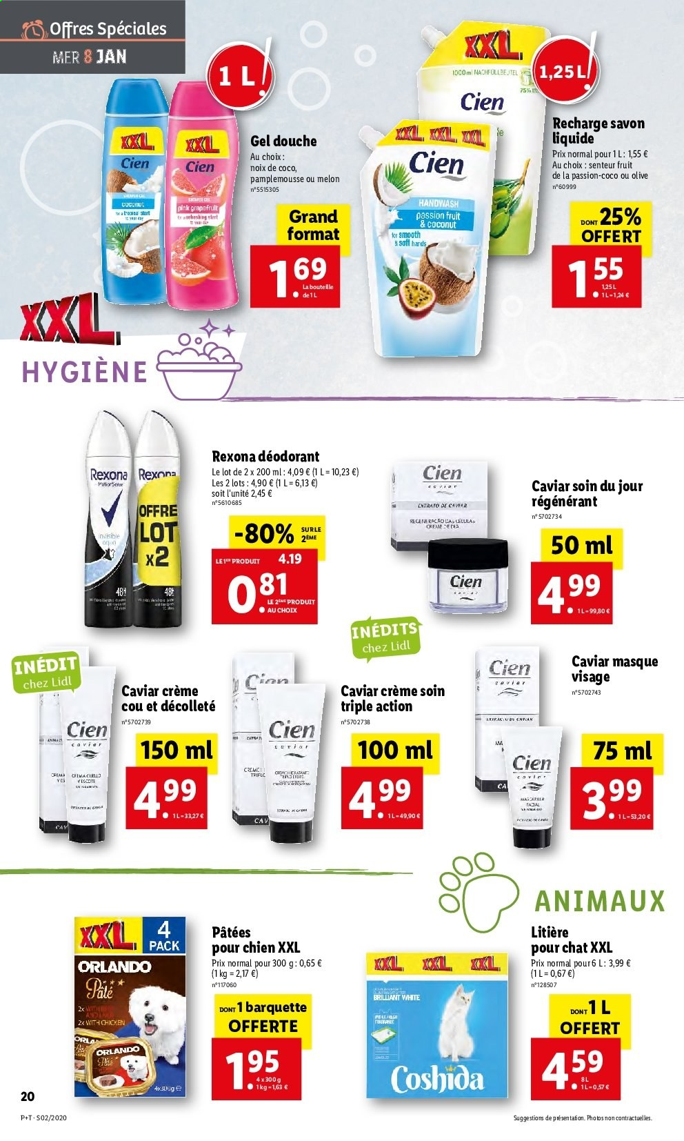 Catalogue Lidl - 08.01.2020 - 14.01.2020. Page 20.