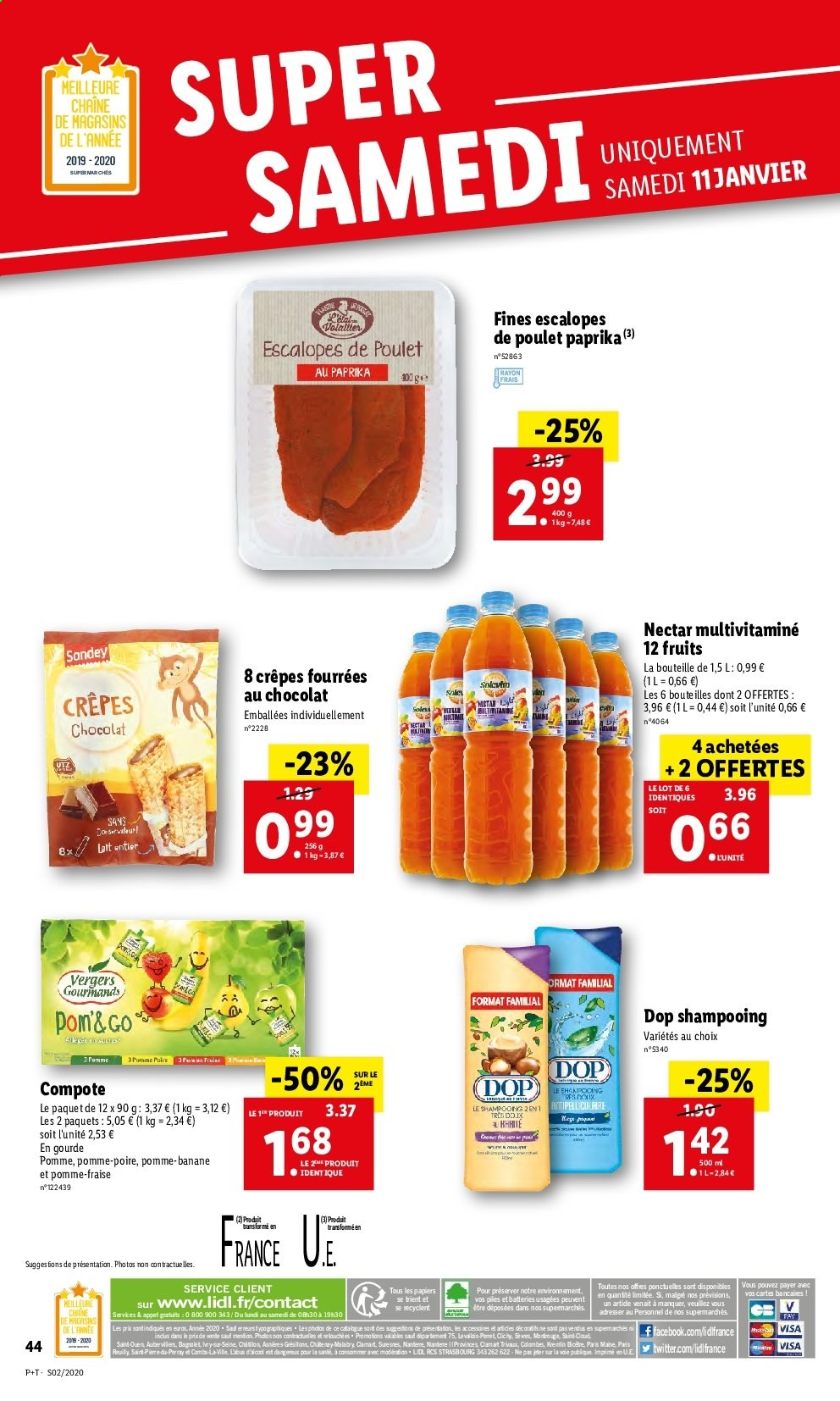 Catalogue Lidl - 08.01.2020 - 14.01.2020. Page 44.