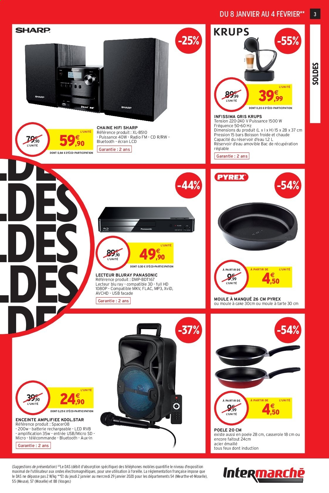 Catalogue Intermarché - 08.01.2020 - 04.02.2020. Page 3.