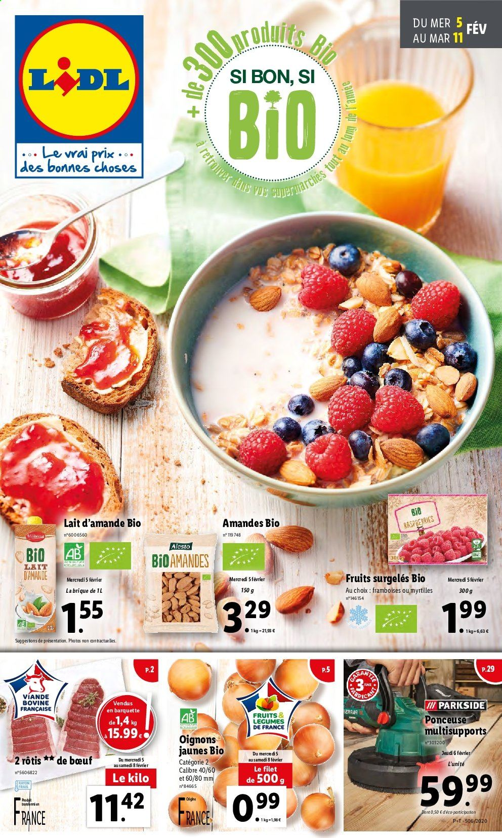 Catalogue Lidl - 05.02.2020 - 11.02.2020. Page 1.
