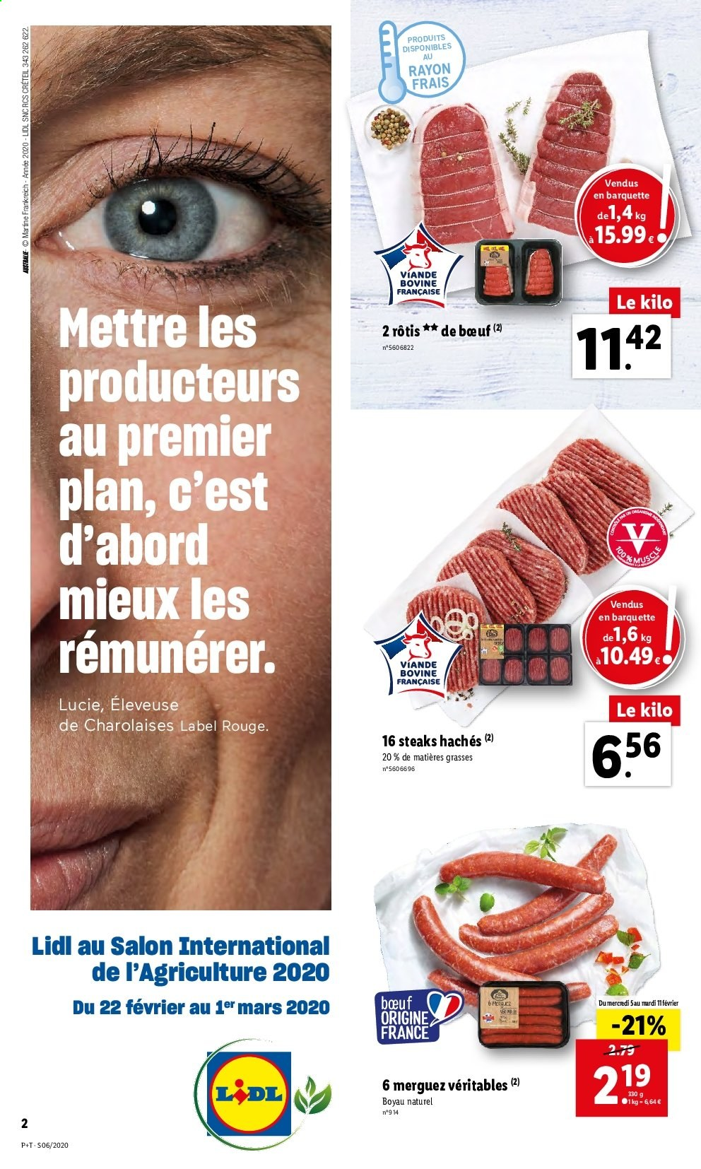 Catalogue Lidl - 05.02.2020 - 11.02.2020. Page 2.