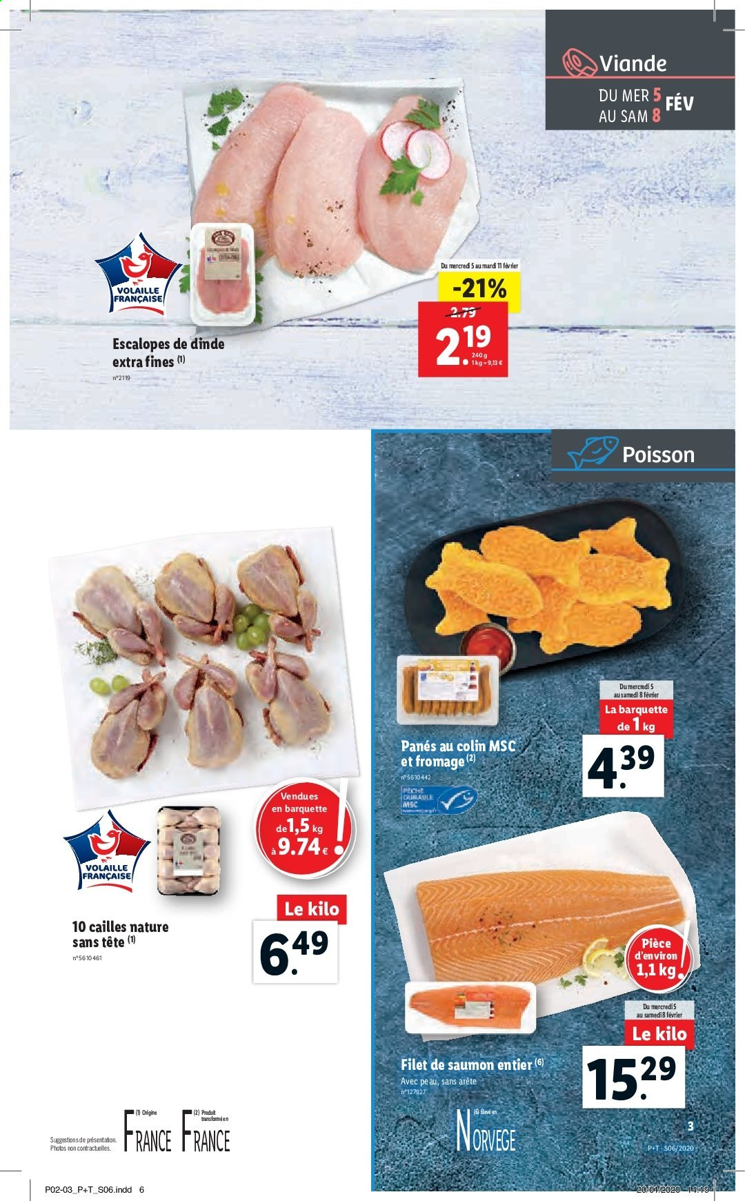 Catalogue Lidl - 05.02.2020 - 11.02.2020. Page 3.