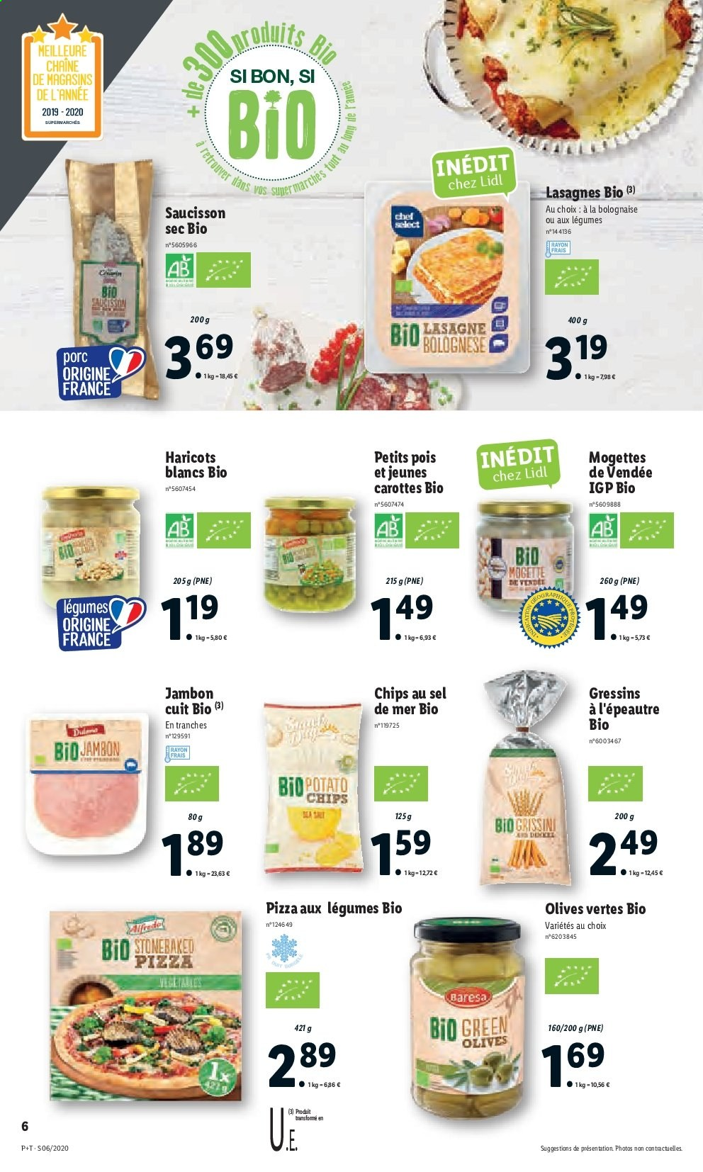 Catalogue Lidl - 05.02.2020 - 11.02.2020. Page 6.