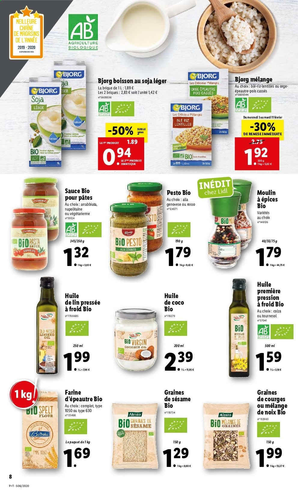 Catalogue Lidl - 05.02.2020 - 11.02.2020. Page 8.