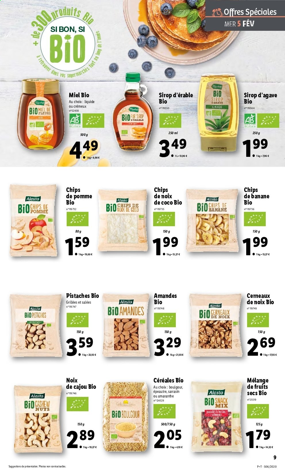 Catalogue Lidl - 05.02.2020 - 11.02.2020. Page 9.
