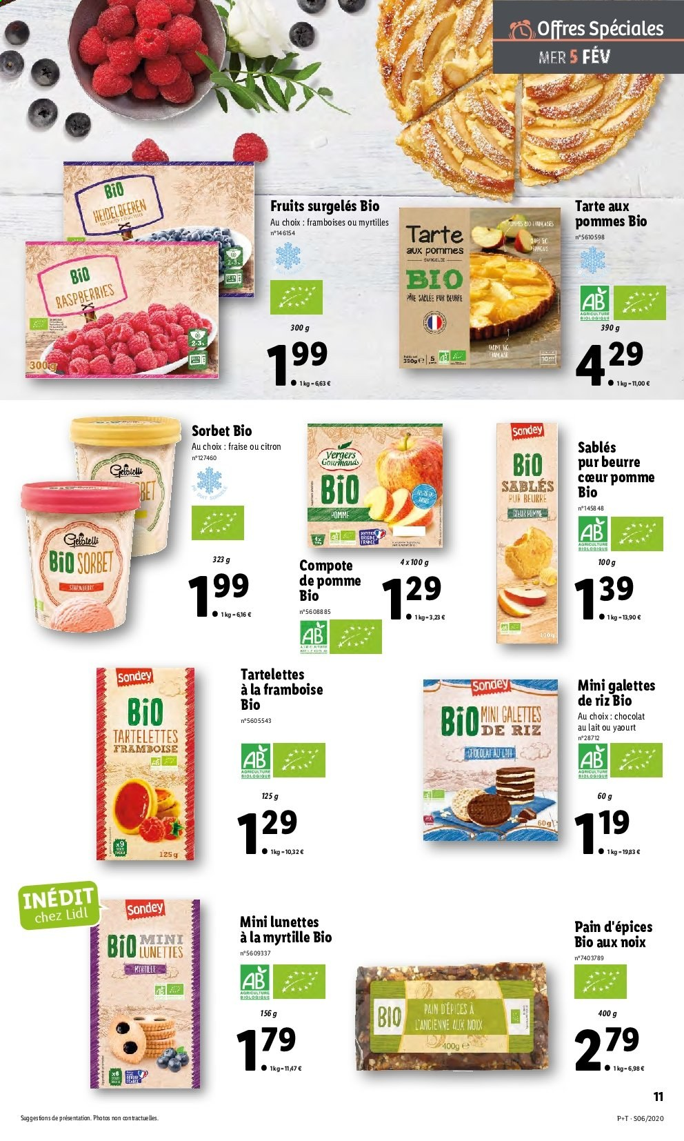 Catalogue Lidl - 05.02.2020 - 11.02.2020. Page 11.