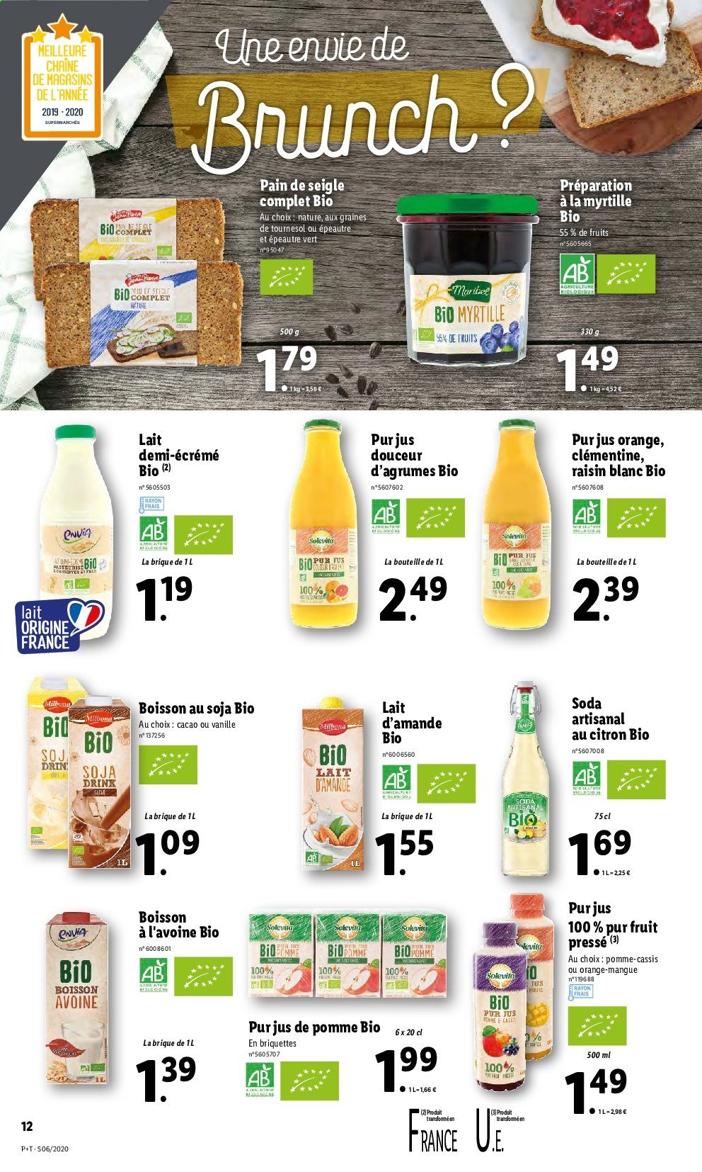 Catalogue Lidl - 05.02.2020 - 11.02.2020. Page 12.