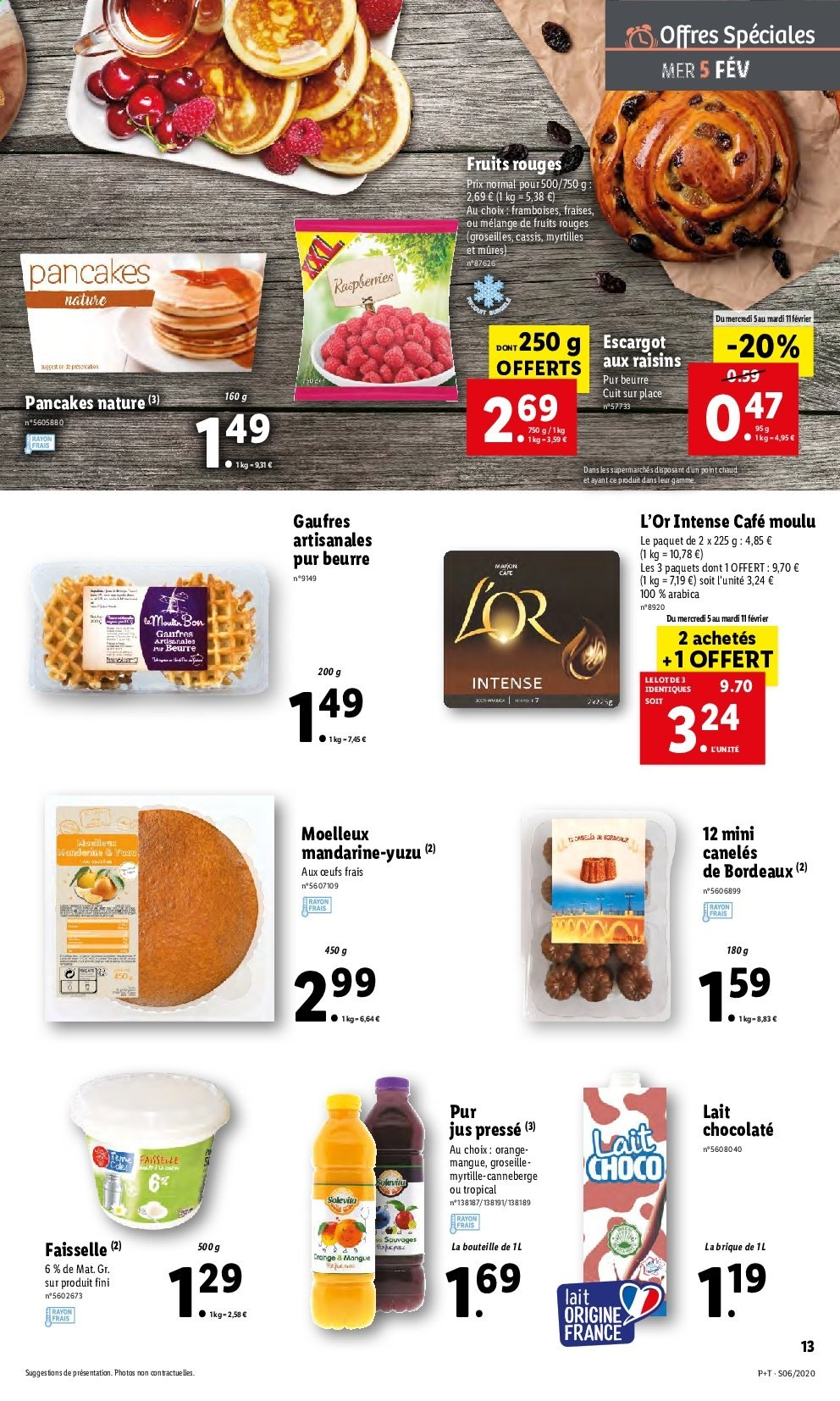 Catalogue Lidl - 05.02.2020 - 11.02.2020. Page 13.