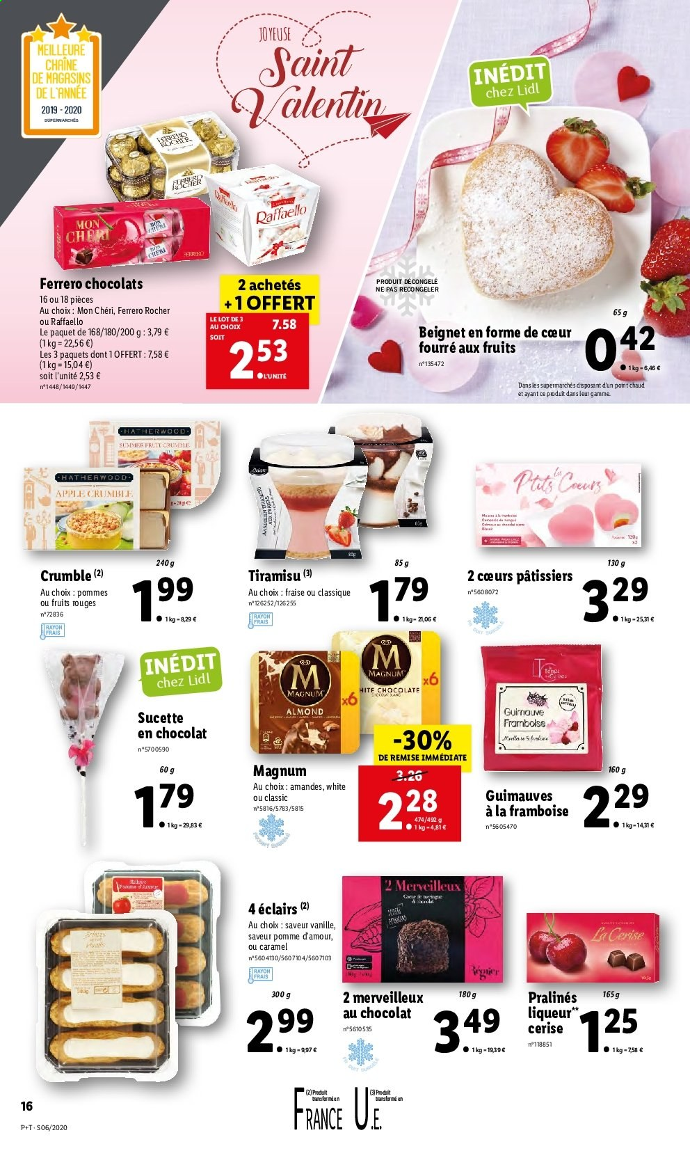 Catalogue Lidl - 05.02.2020 - 11.02.2020. Page 16.