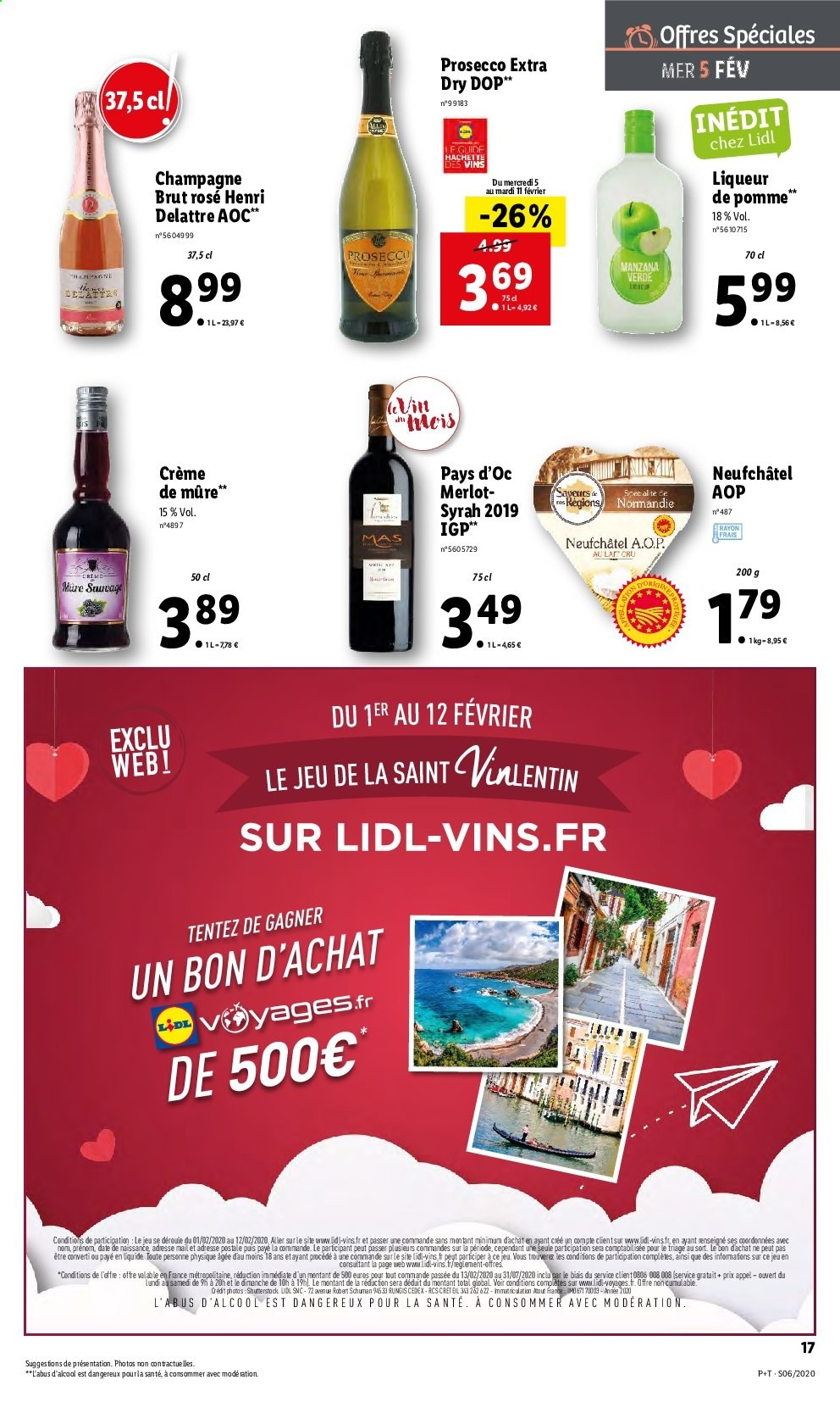 Catalogue Lidl - 05.02.2020 - 11.02.2020. Page 17.