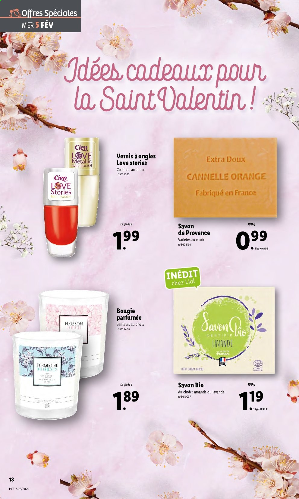 Catalogue Lidl - 05.02.2020 - 11.02.2020. Page 18.