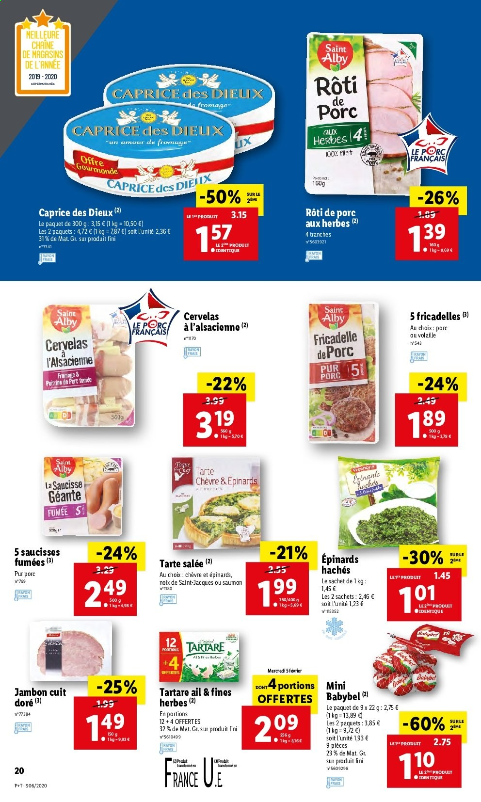 Catalogue Lidl - 05.02.2020 - 11.02.2020. Page 20.