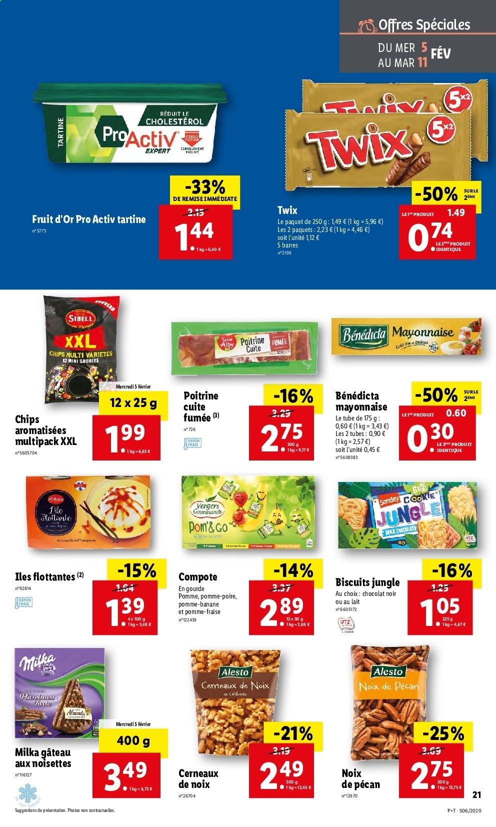 Catalogue Lidl - 05.02.2020 - 11.02.2020. Page 21.