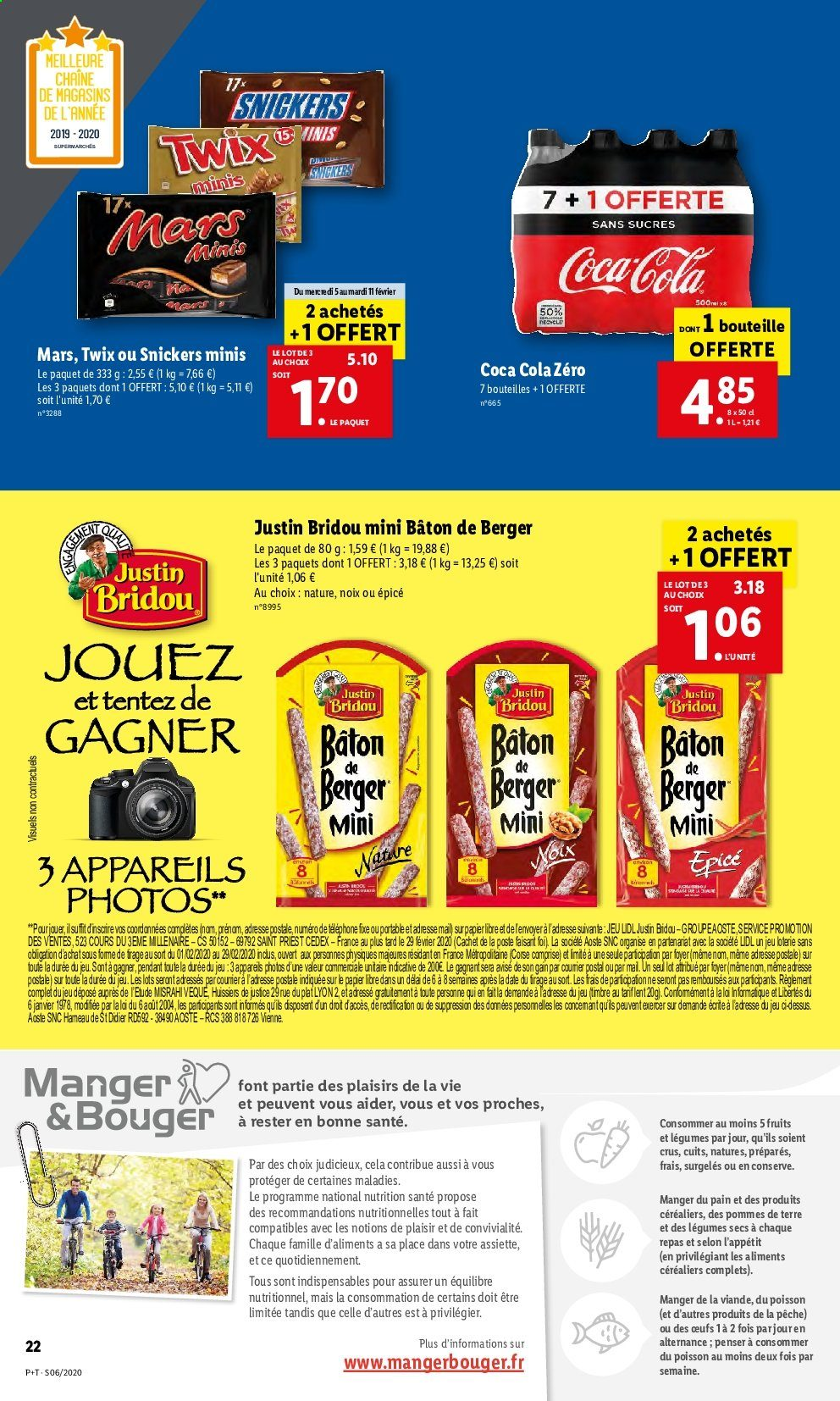 Catalogue Lidl - 05.02.2020 - 11.02.2020. Page 22.