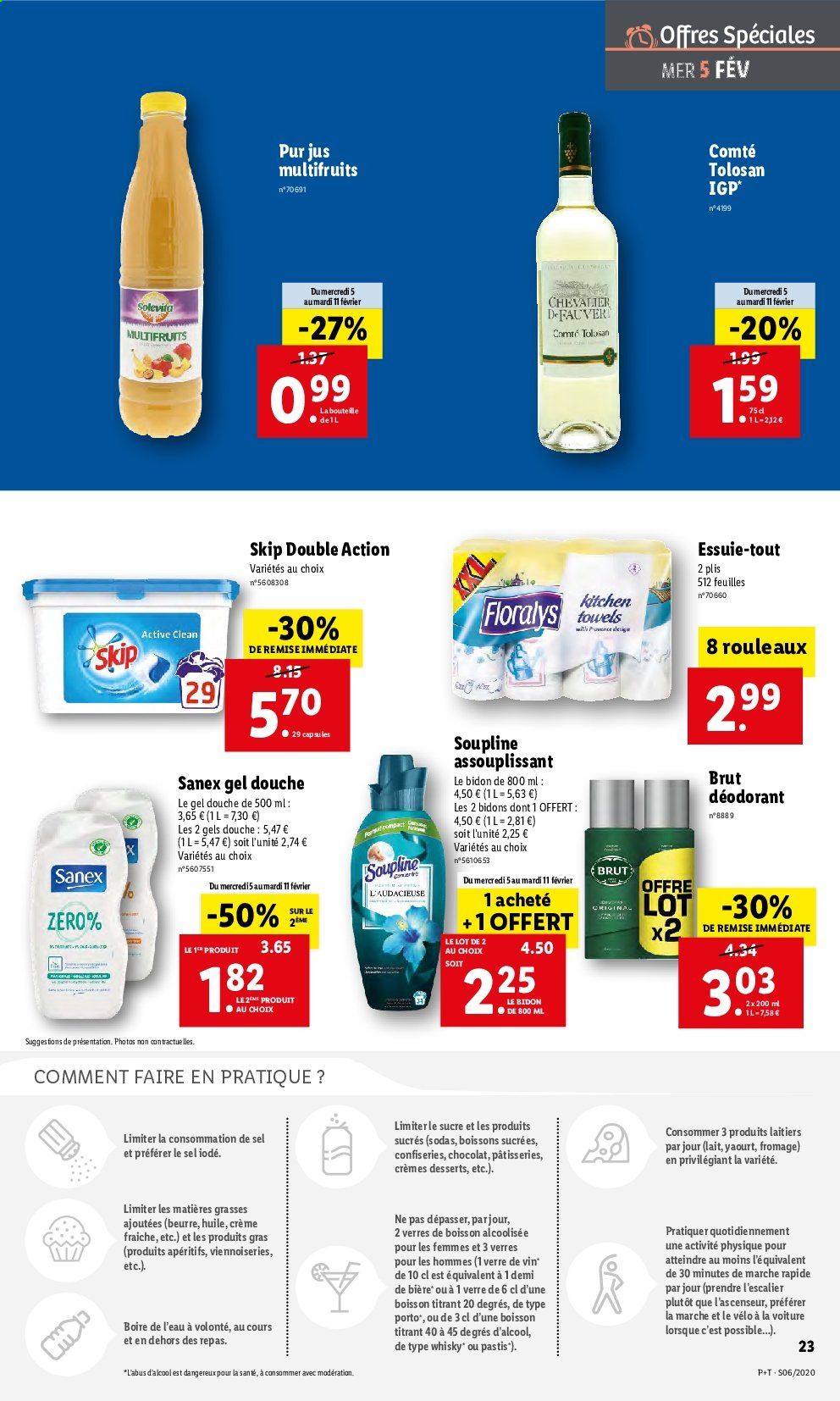Catalogue Lidl - 05.02.2020 - 11.02.2020. Page 23.