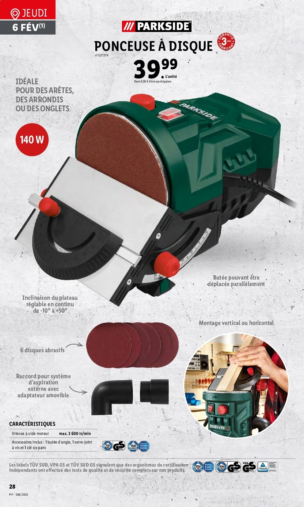 Catalogue Lidl - 05.02.2020 - 11.02.2020. Page 28.