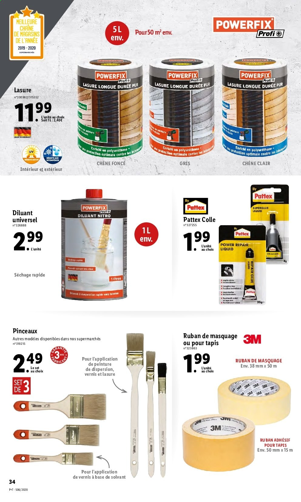 Catalogue Lidl - 05.02.2020 - 11.02.2020. Page 34.