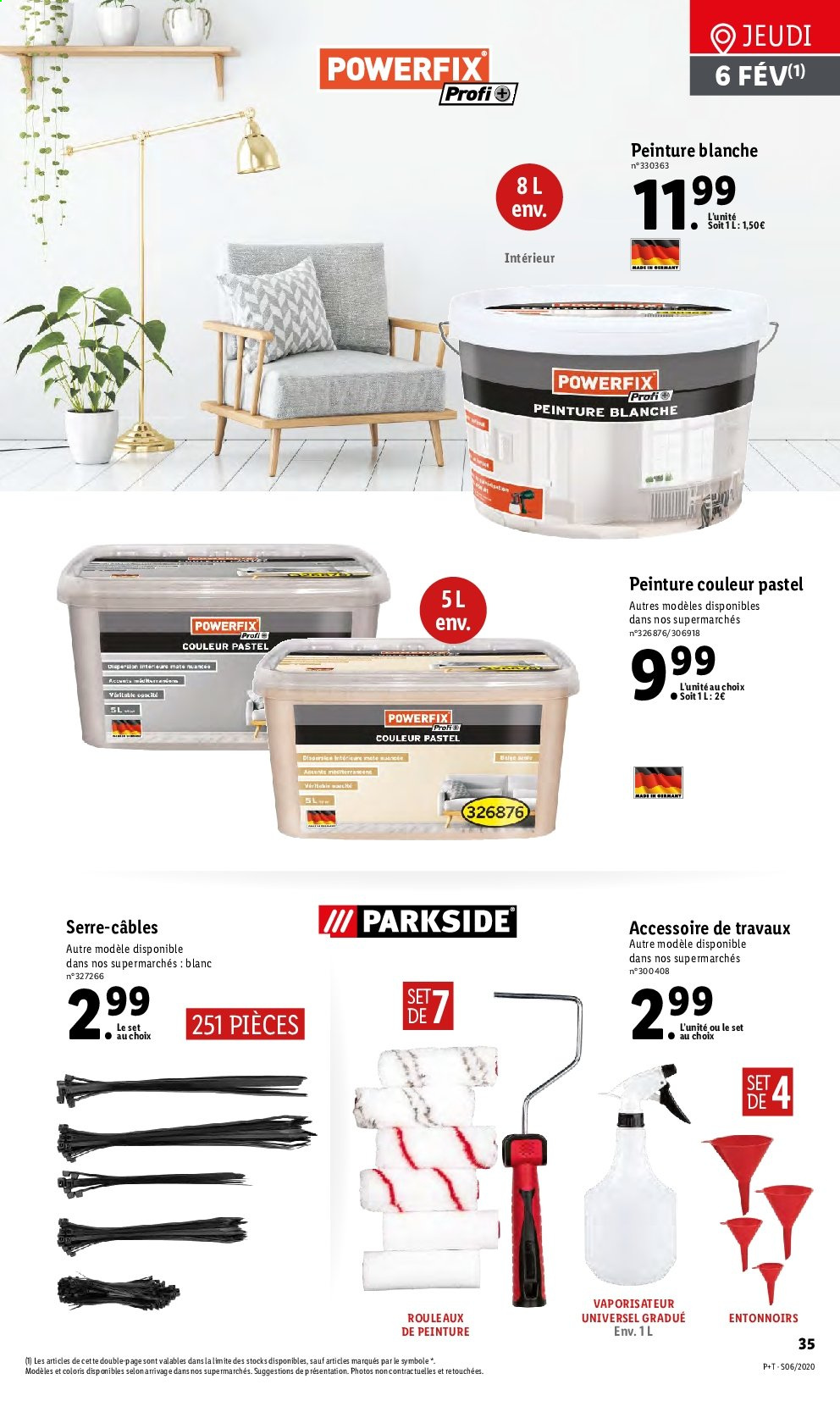 Catalogue Lidl - 05.02.2020 - 11.02.2020. Page 35.