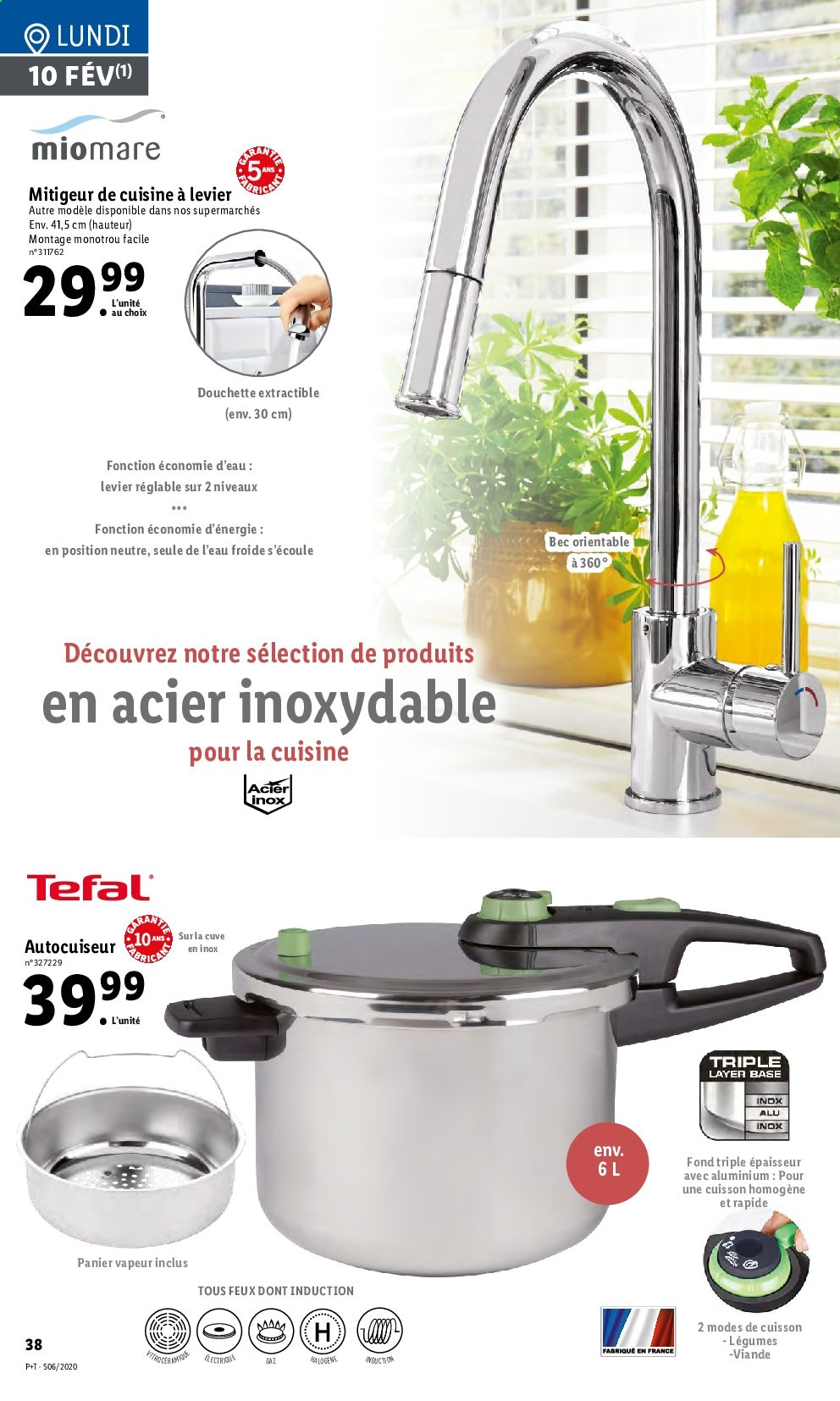 Catalogue Lidl - 05.02.2020 - 11.02.2020. Page 38.