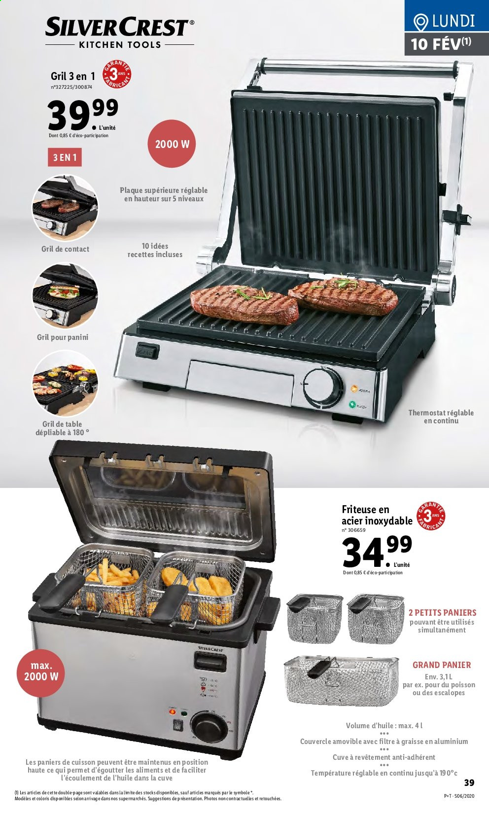 Catalogue Lidl - 05.02.2020 - 11.02.2020. Page 39.