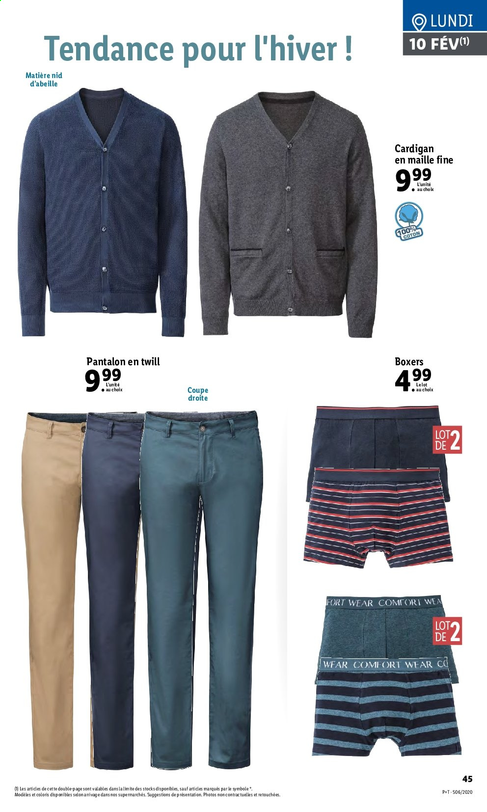 Catalogue Lidl - 05.02.2020 - 11.02.2020. Page 45.