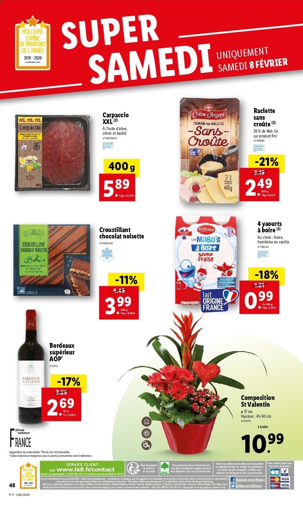 Catalogue Lidl - 05.02.2020 - 11.02.2020. Page 48.