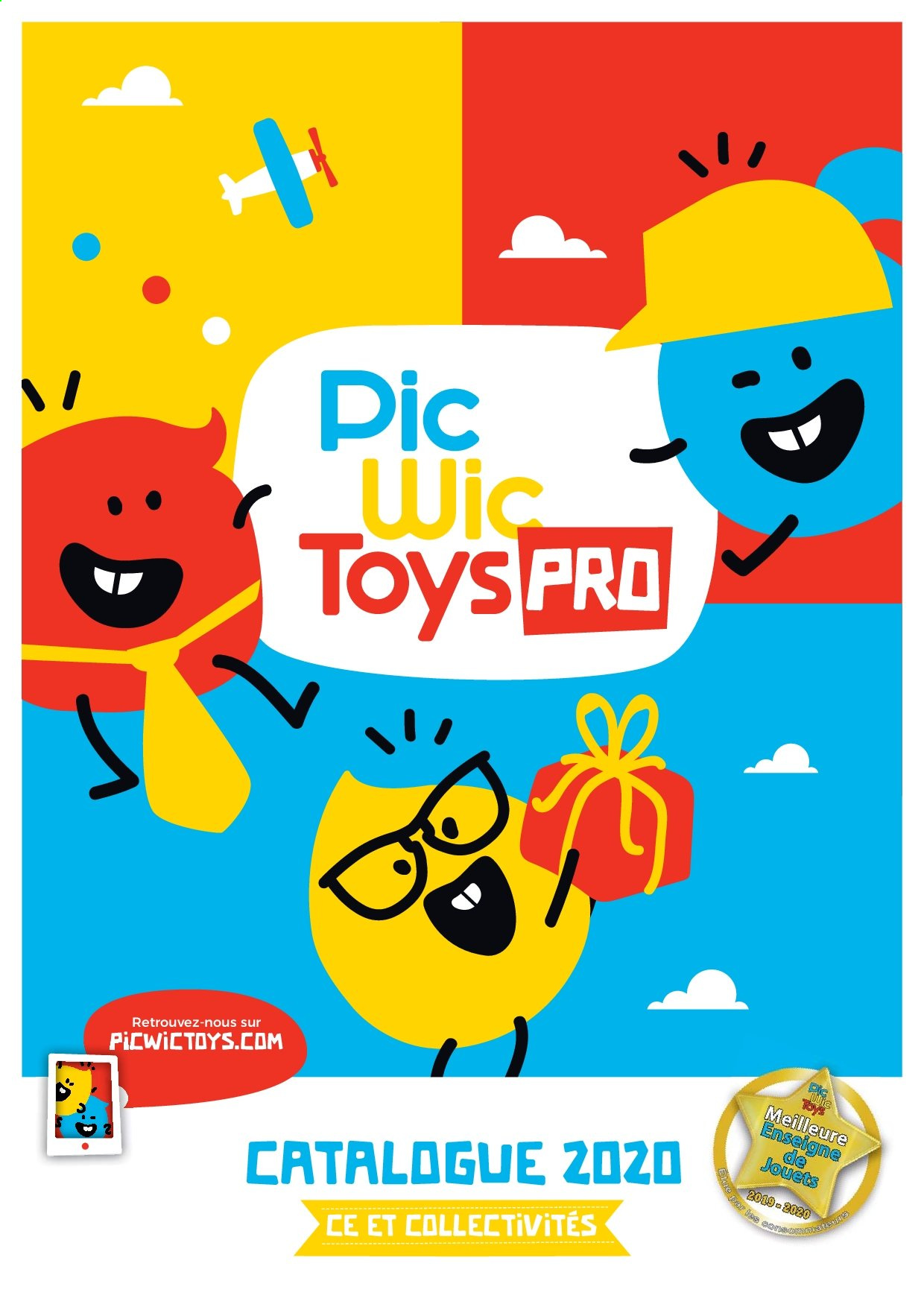 Catalogue PicWicToys. Page 1.