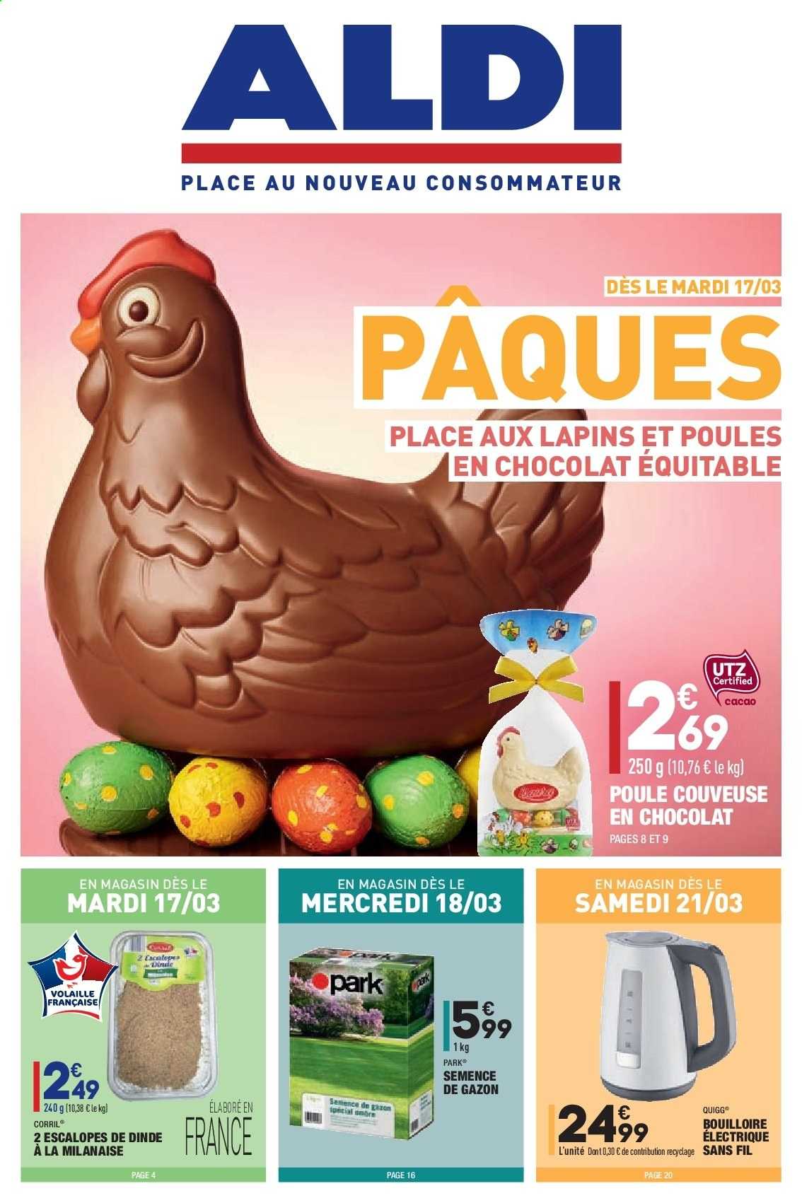 Catalogue ALDI - 16.03.2020 - 23.03.2020. Page 1.