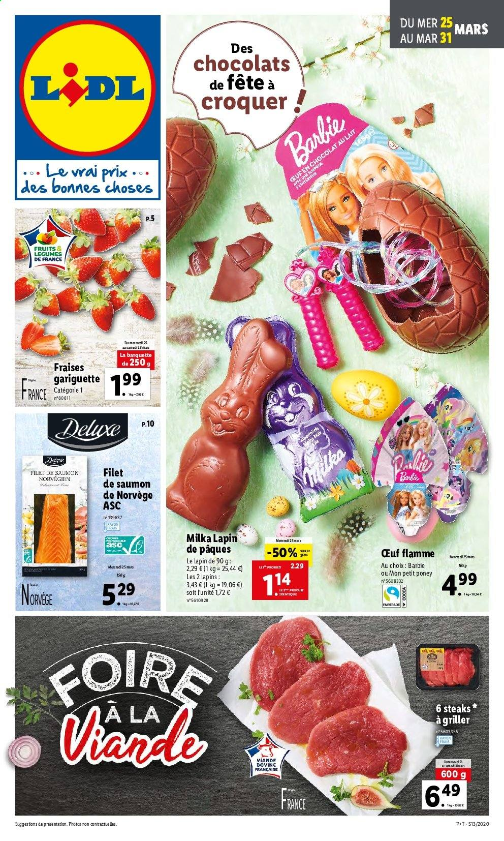 Catalogue Lidl - 25.03.2020 - 31.03.2020. Page 1.