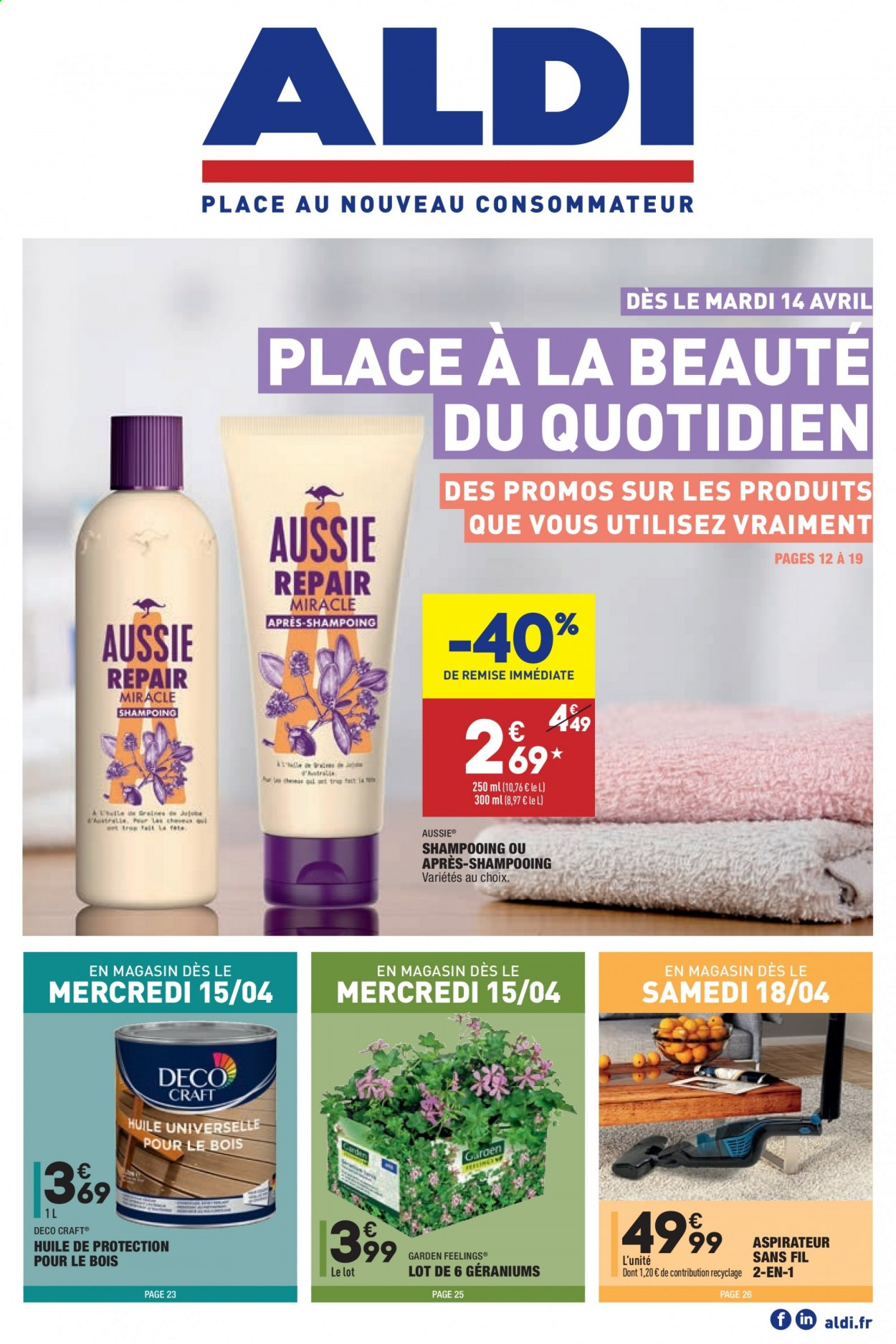 Catalogue ALDI - 14.04.2020 - 20.04.2020. Page 1.