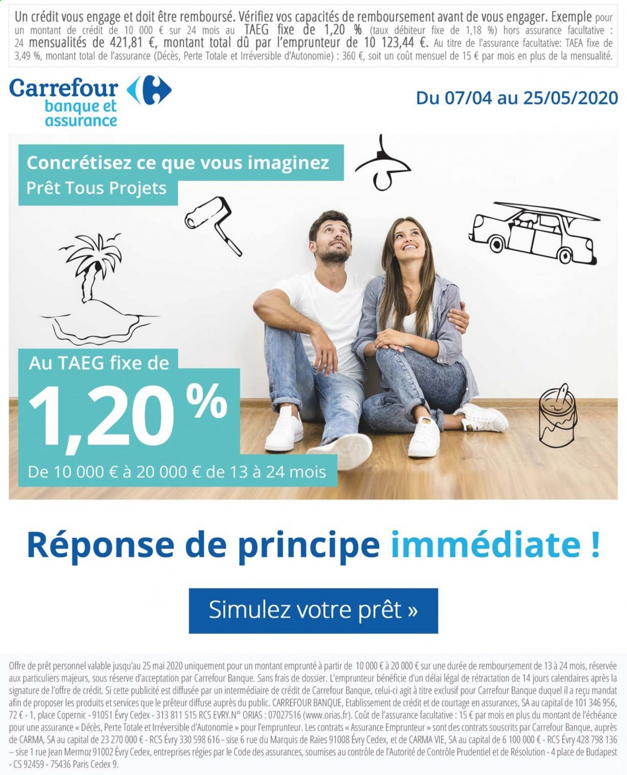 Catalogue Carrefour - 05.05.2020 - 11.05.2020. Page 8.