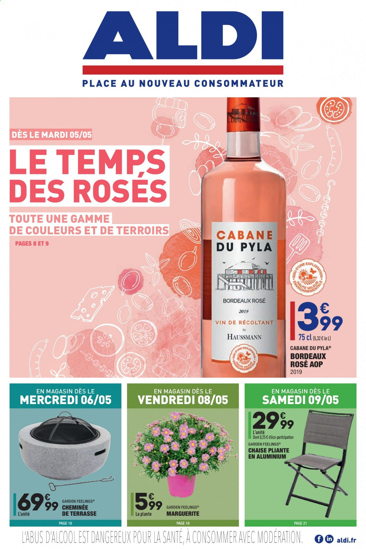 Catalogue ALDI - 05.05.2020 - 11.05.2020. Page 1.