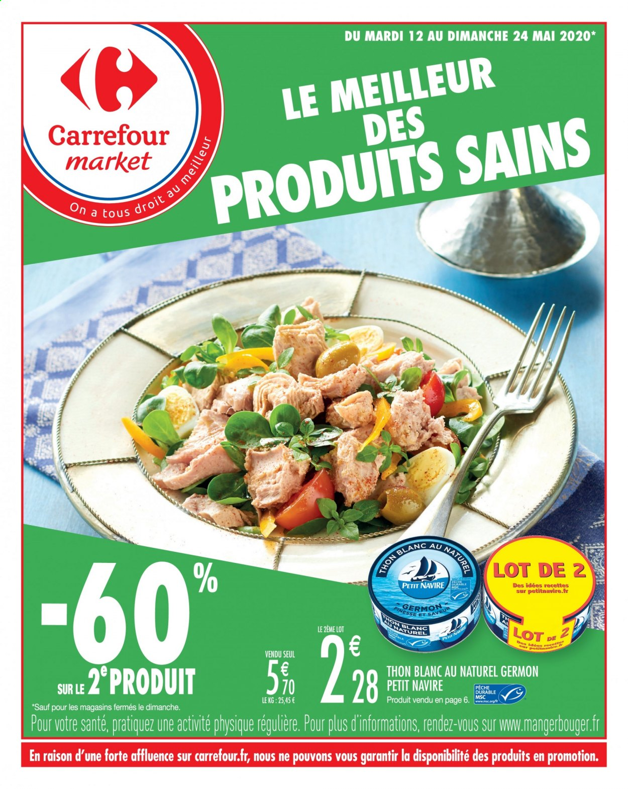 Catalogue Carrefour - 12.05.2020 - 24.05.2020. Page 1.