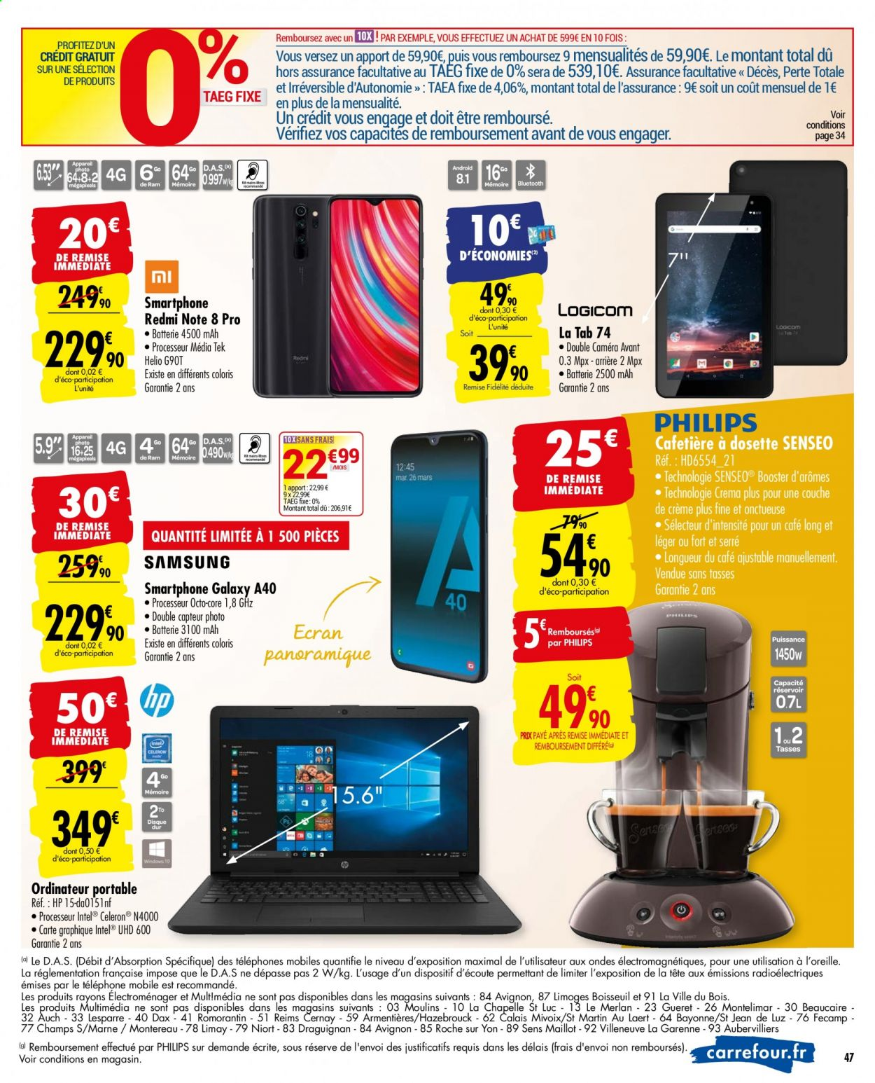 Catalogue Carrefour - 19.05.2020 - 25.05.2020. Page 47.
