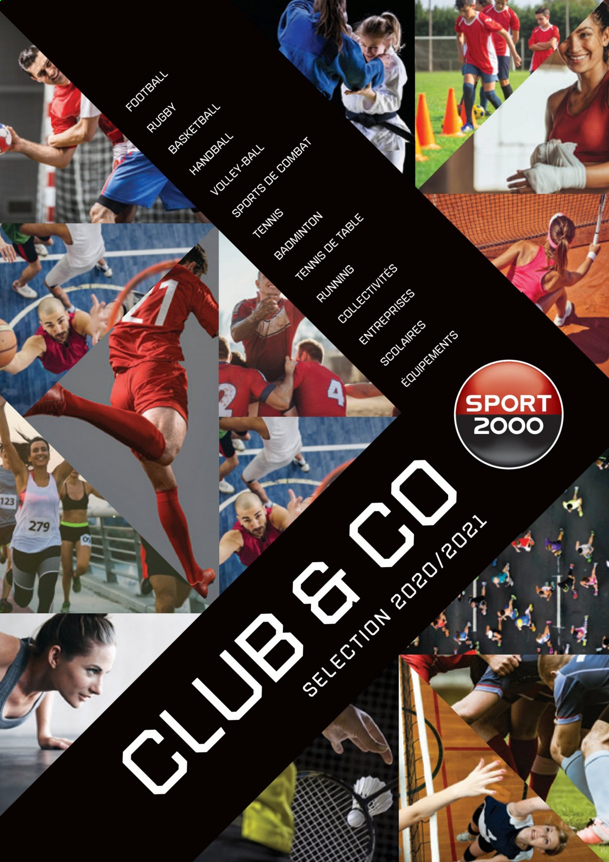 Catalogue Sport 2000 - Produits soldés - tennis, running. Page 1.