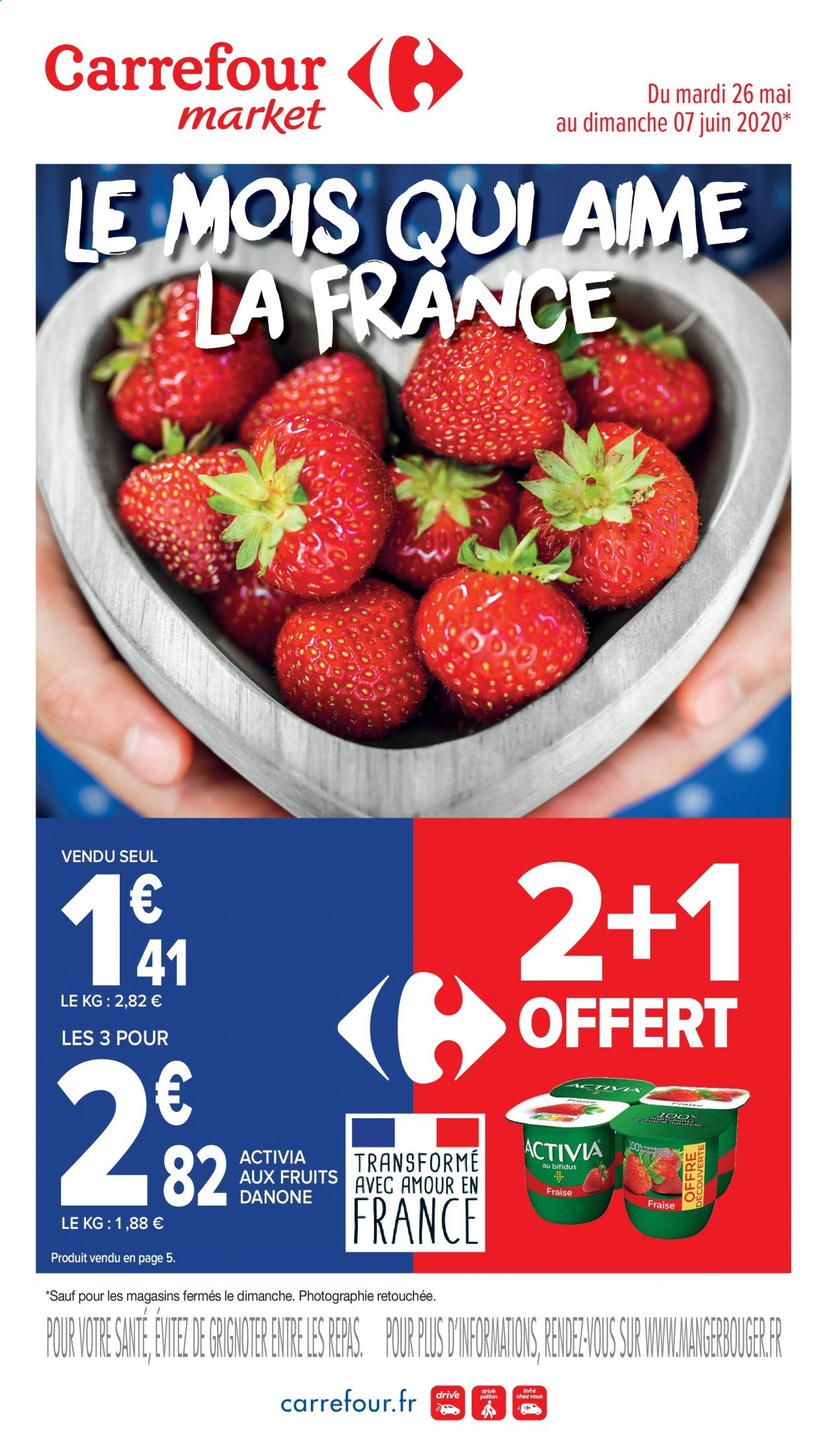 Catalogue Carrefour - 26.05.2020 - 07.06.2020. Page 1.
